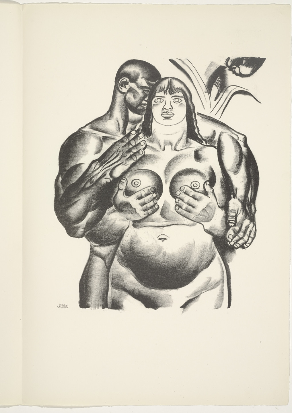 Hugo Gellert. Plate (folio 50) from 'Capital' in Pictures. 1933