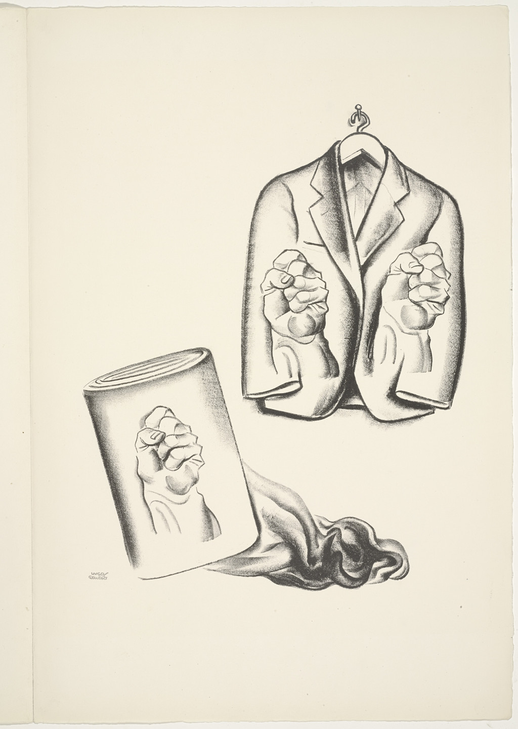 Hugo Gellert. Plate (folio 52) from 'Capital' in Pictures. 1933