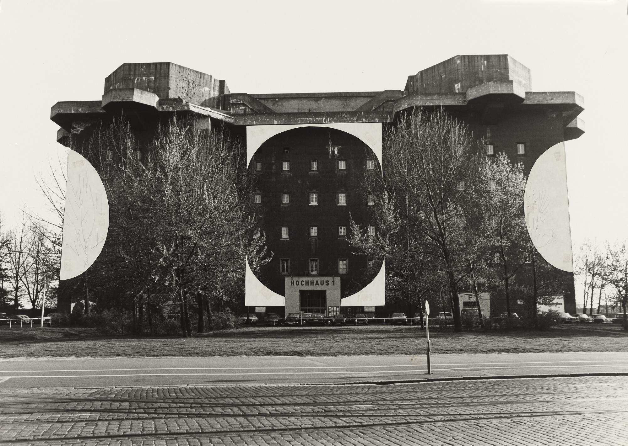 Richard Artschwager. Untitled (Project for Hamburg). 1978