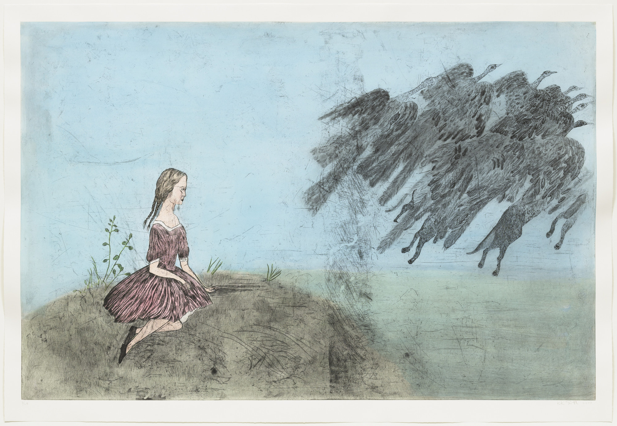 Kiki Smith. Come Away from Her (after Lewis Carroll). 2003