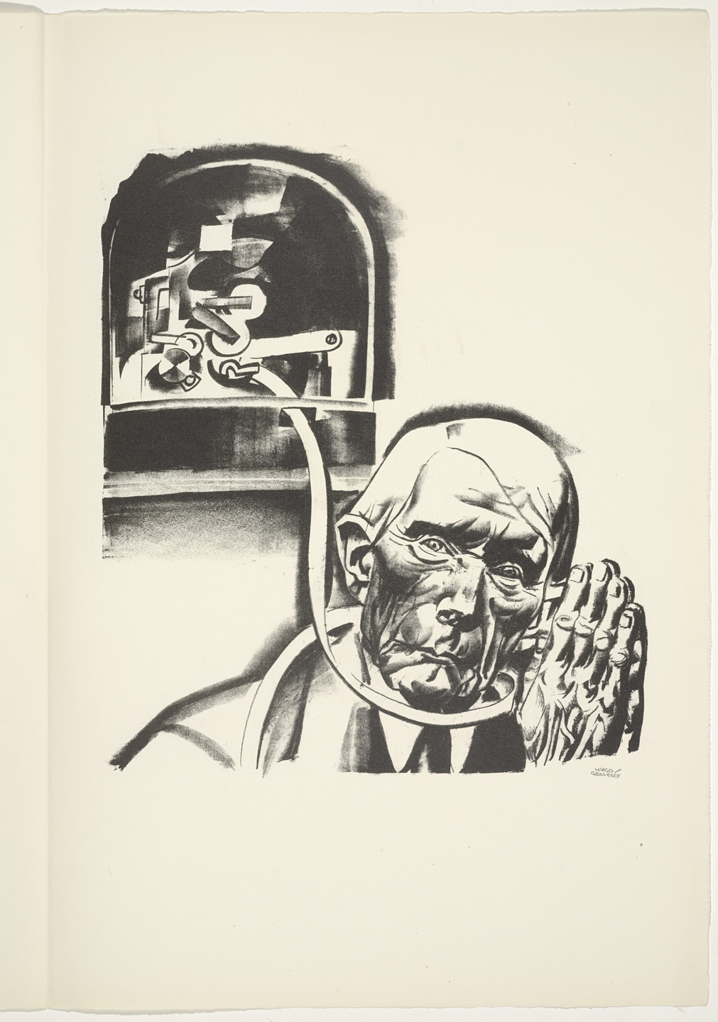 Hugo Gellert. Plate (folio 38) from 'Capital' in Pictures. 1933