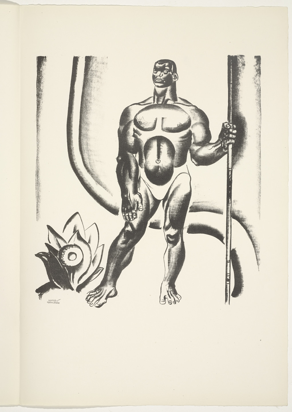 Hugo Gellert. Plate (folio 42) from 'Capital' in Pictures. 1933
