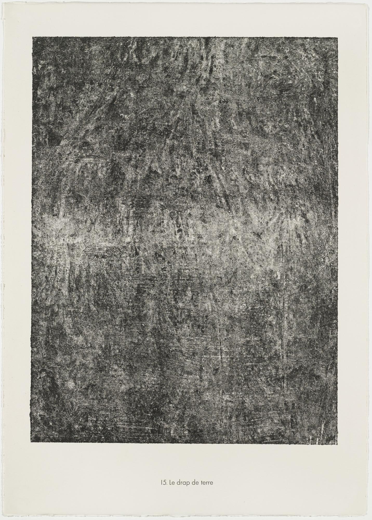 Jean Dubuffet. Sheet of Earth (Le drap de terre) from the portfolio Soil, Earth (Sols, terres) from Phenomena (Les Phénomènes). 1959