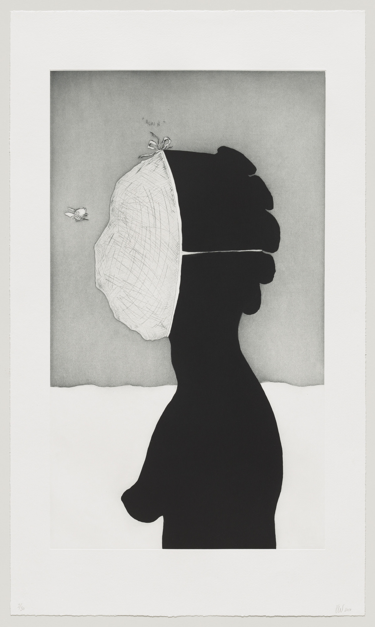 Kara Walker. savant from An Unpeopled Land in Uncharted Waters. 2010