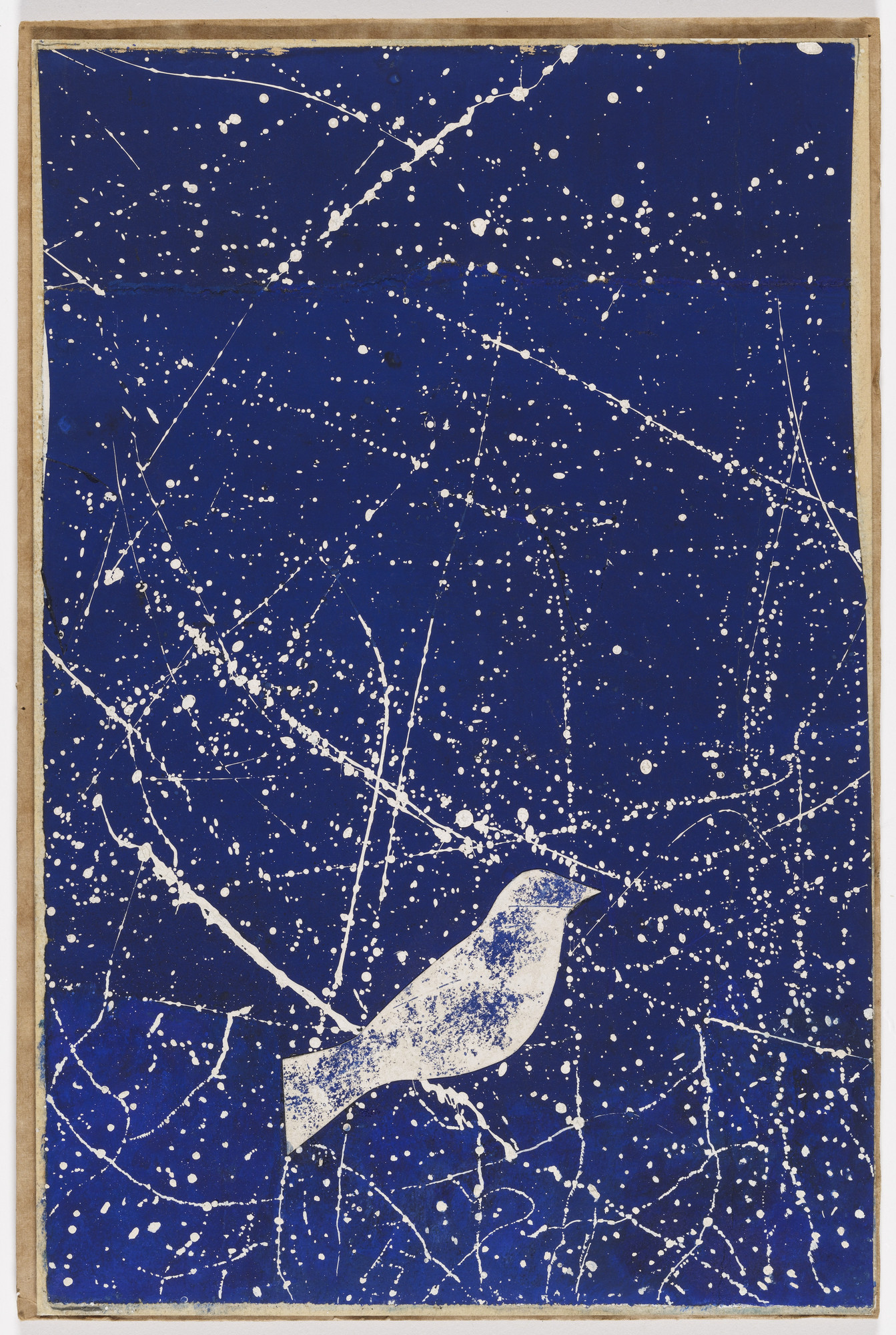 Joseph Cornell. Constellation (Project for a Christmas card). 1953