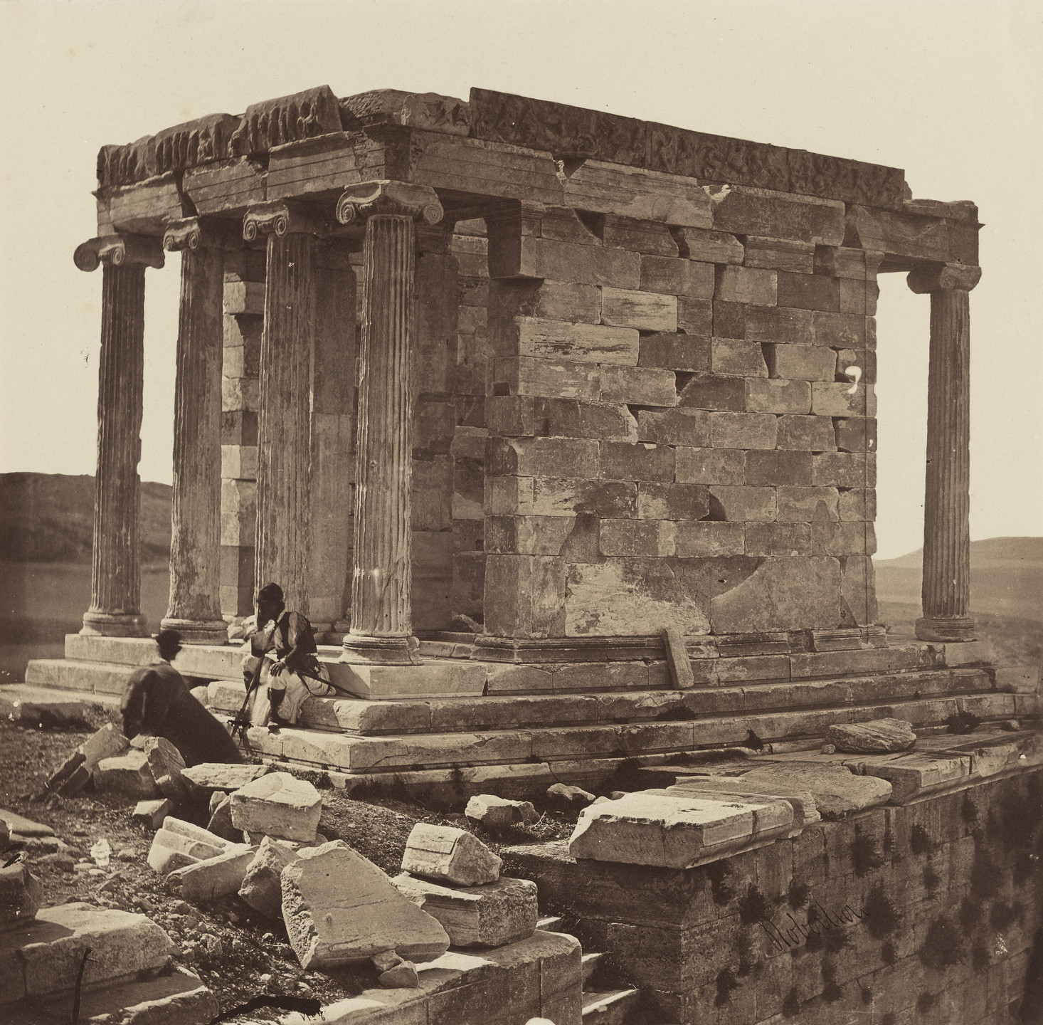 James Robertson. Temple of Athena Nike. c. 1854
