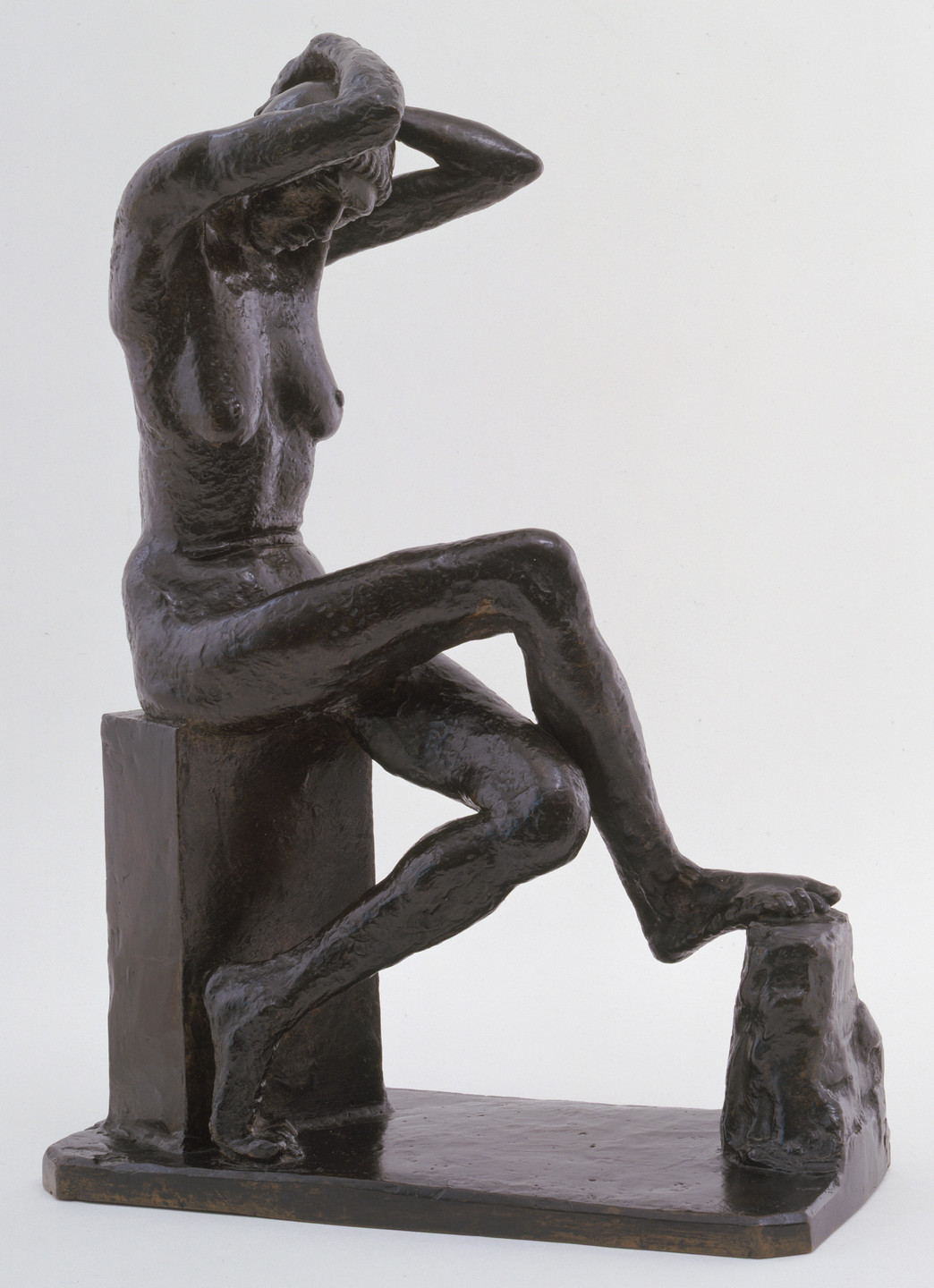 Jacob Epstein. Nan Seated. 1911