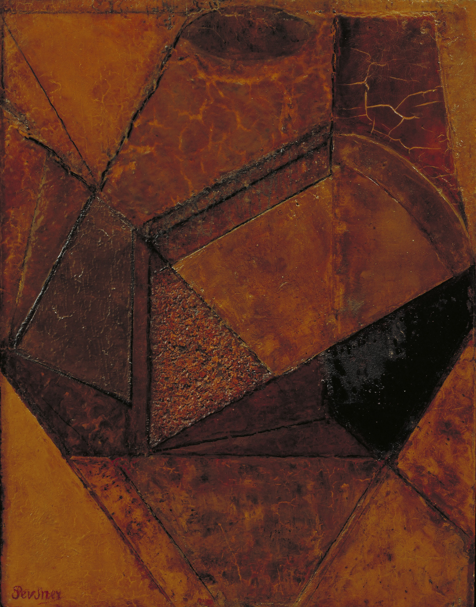 Antoine Pevsner. Abstract Forms. 1913? (1923?)
