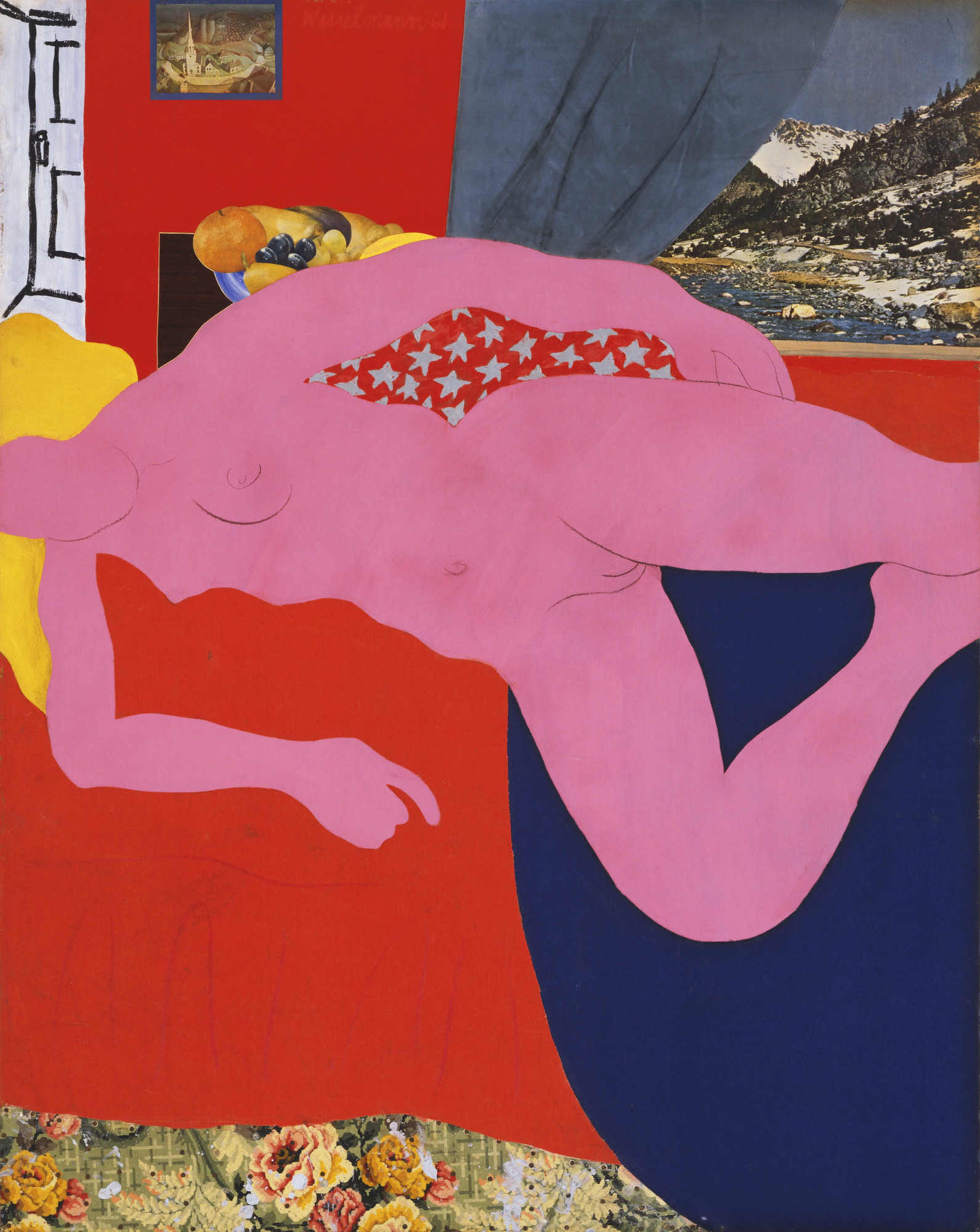 Tom Wesselmann. Great American Nude, 2. 1961