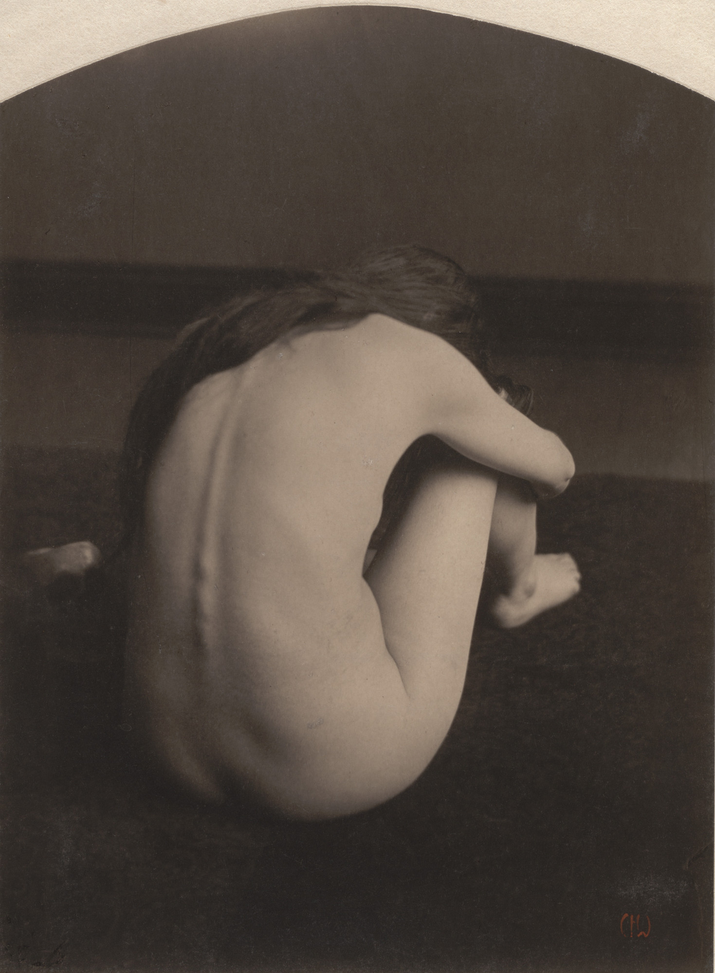 Clarence H. White. Nude. c. 1900