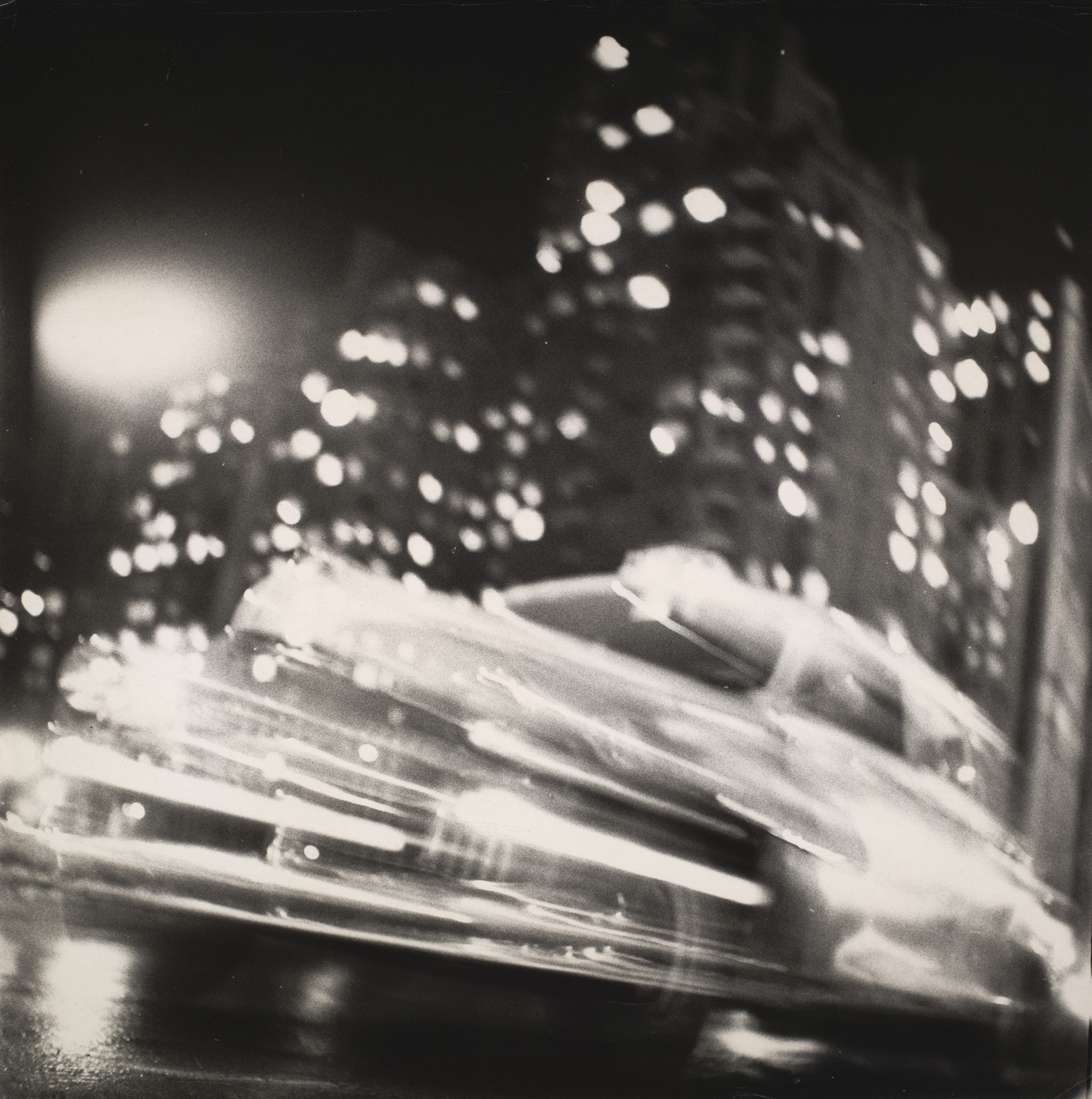 Ted Croner. Taxi - New York - Night. 1947-48