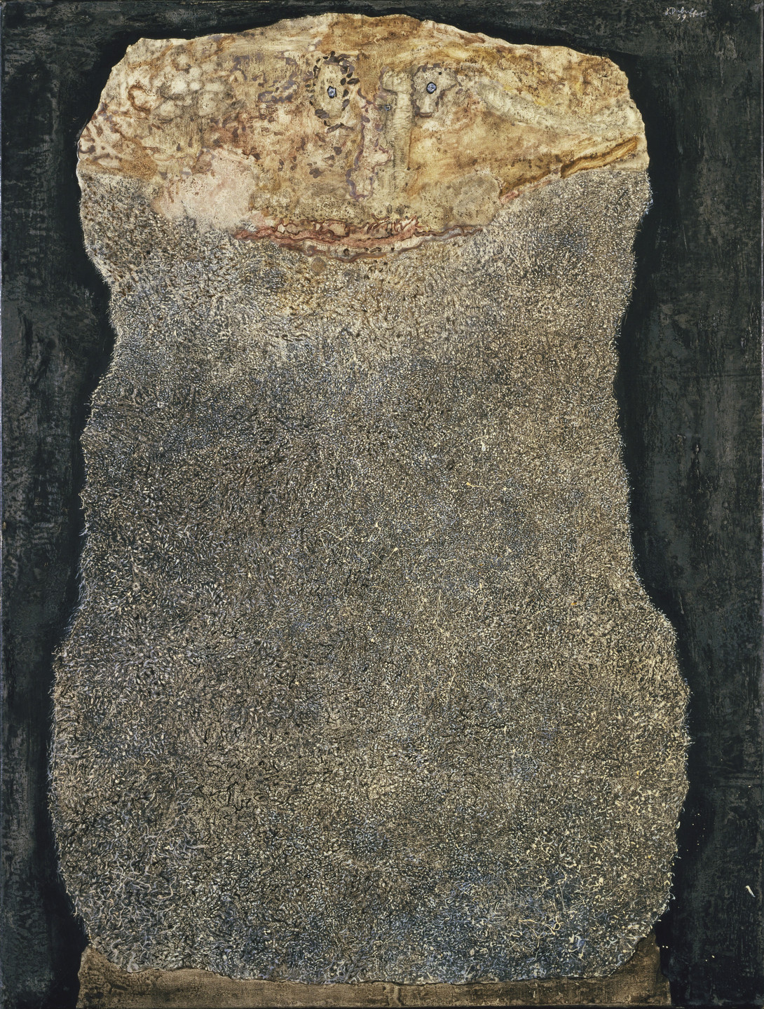 Jean Dubuffet. Beard of Uncertain Returns. November 1959