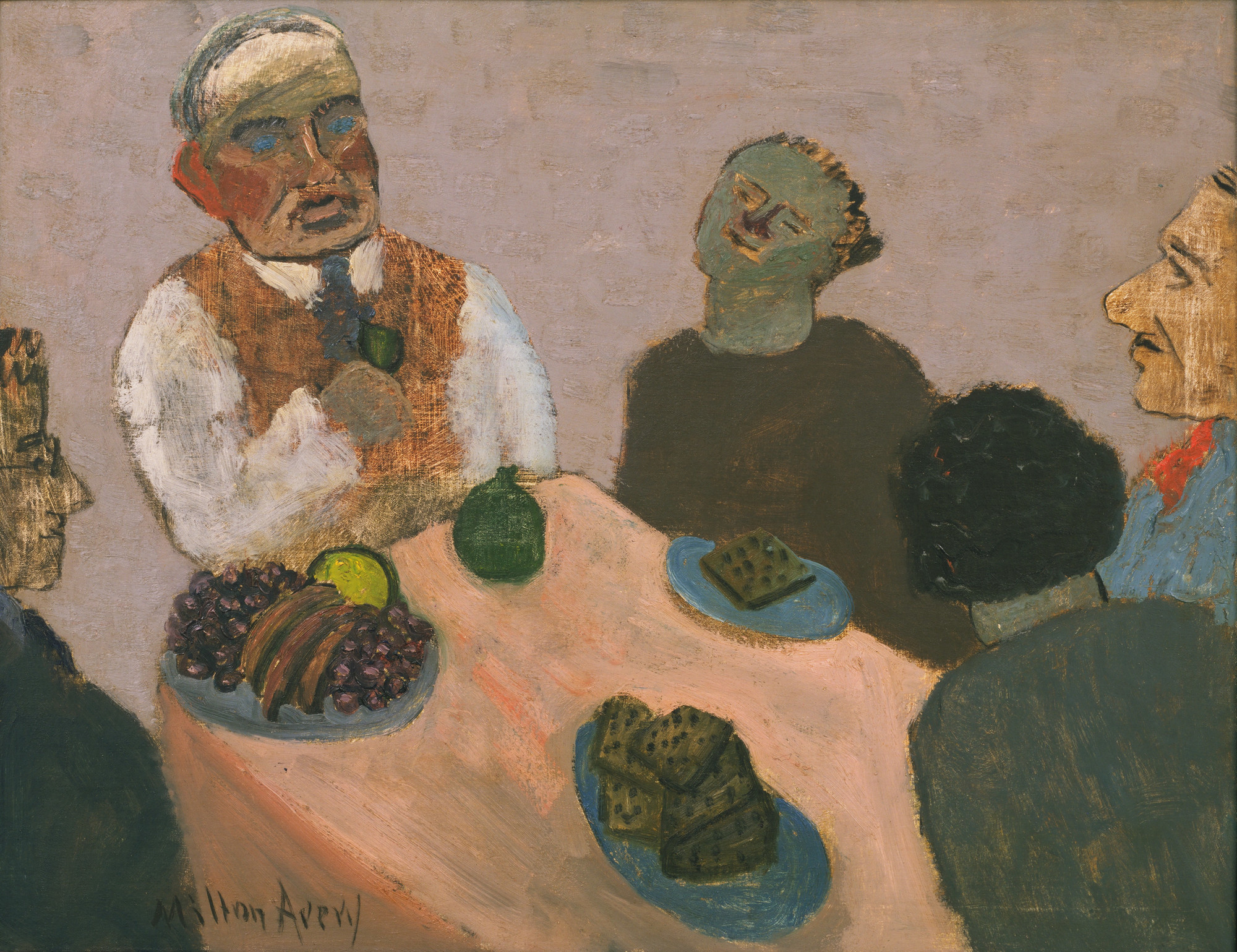 Milton Avery. The Dessert. 1939