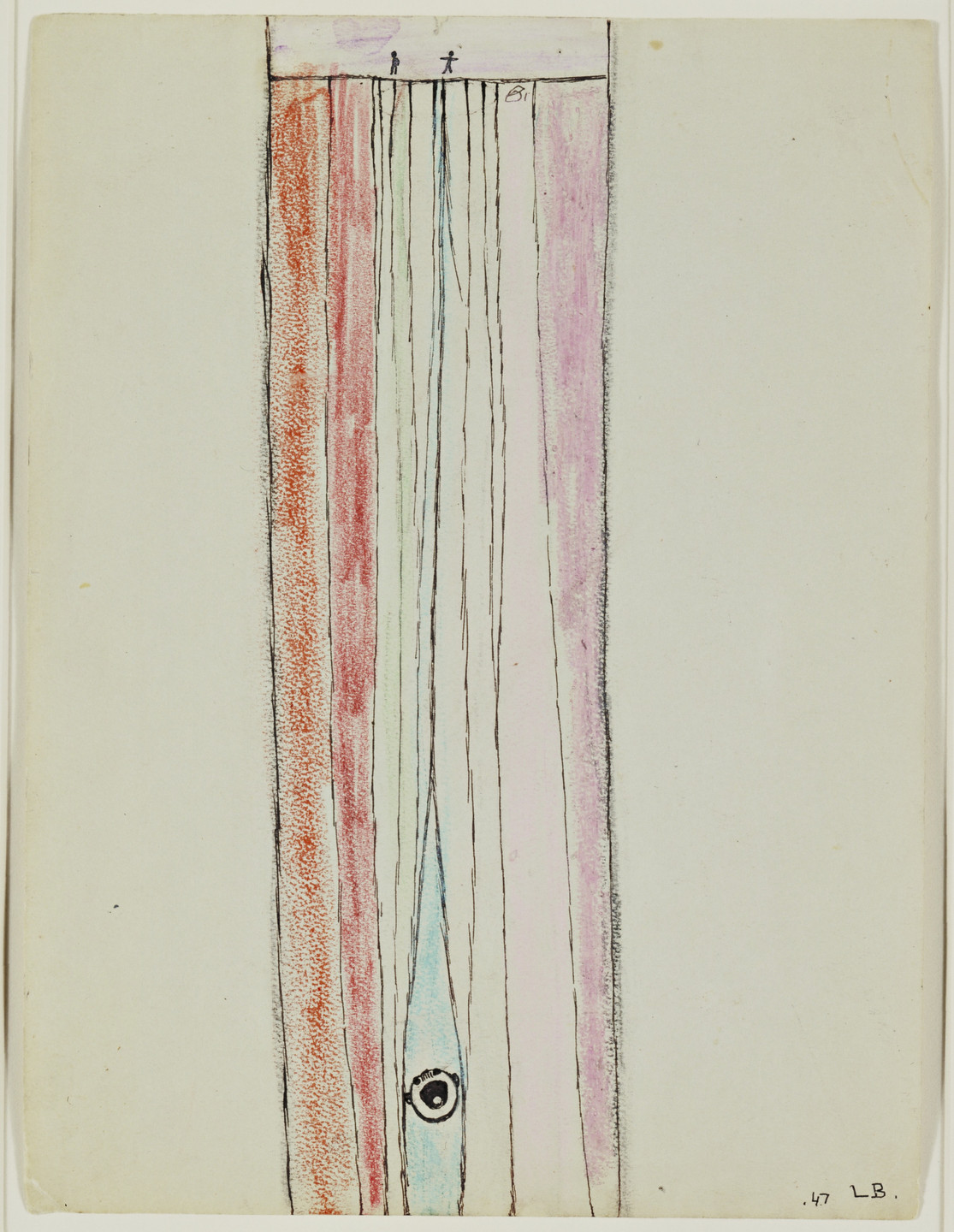 Louise Bourgeois. Untitled. c. 1943