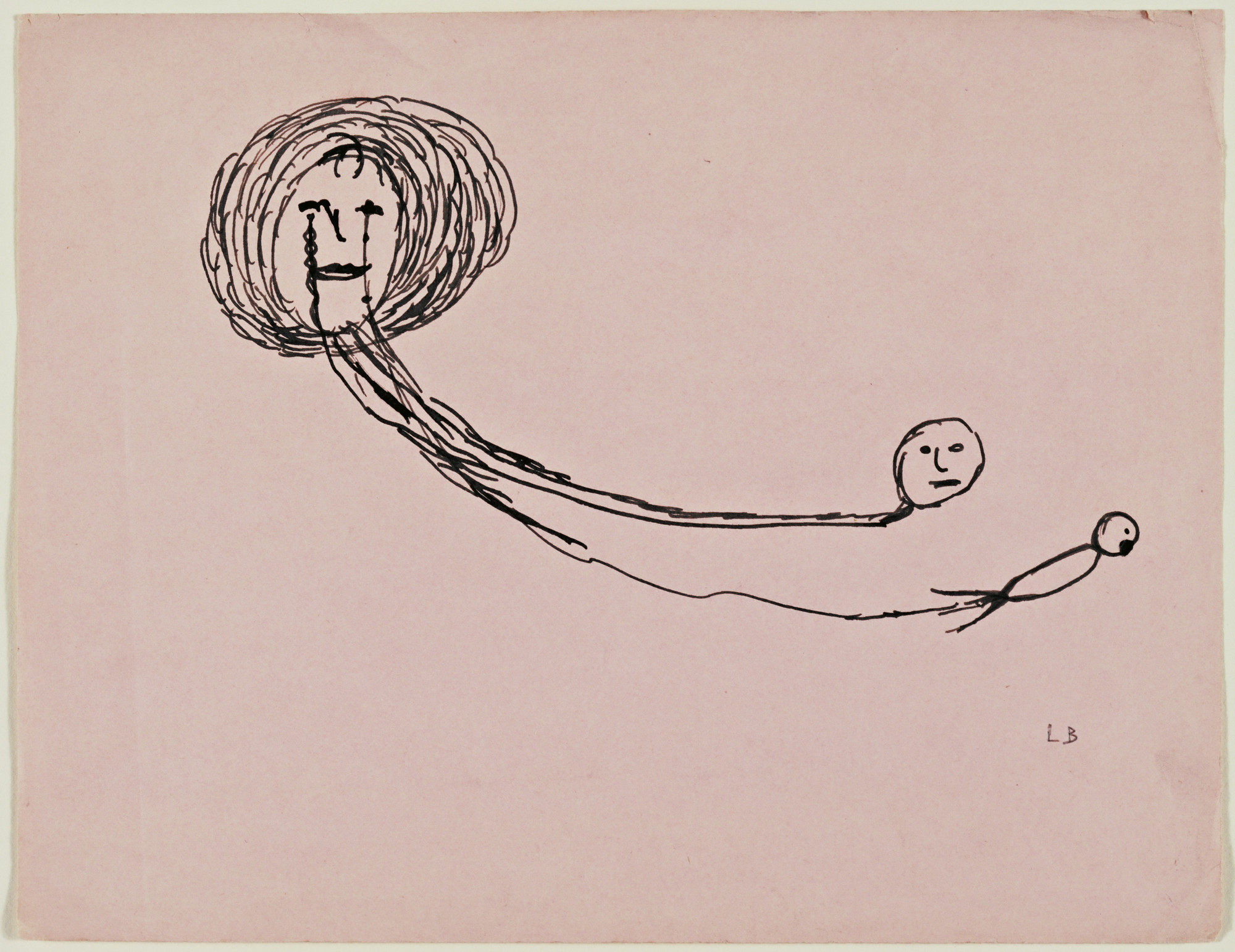 Louise Bourgeois. Untitled. 1943