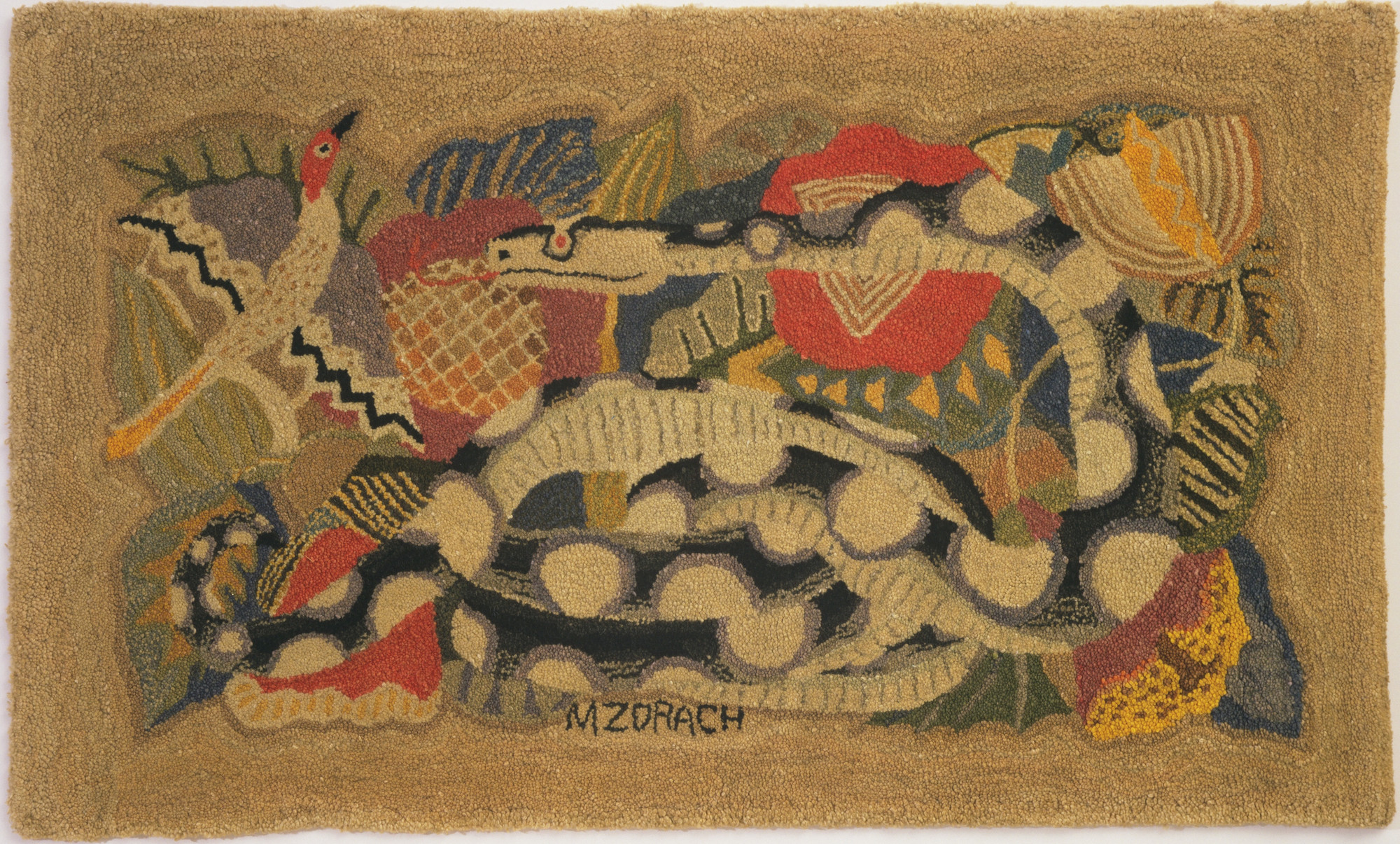 Marguerite Zorach. The Jungle. 1936