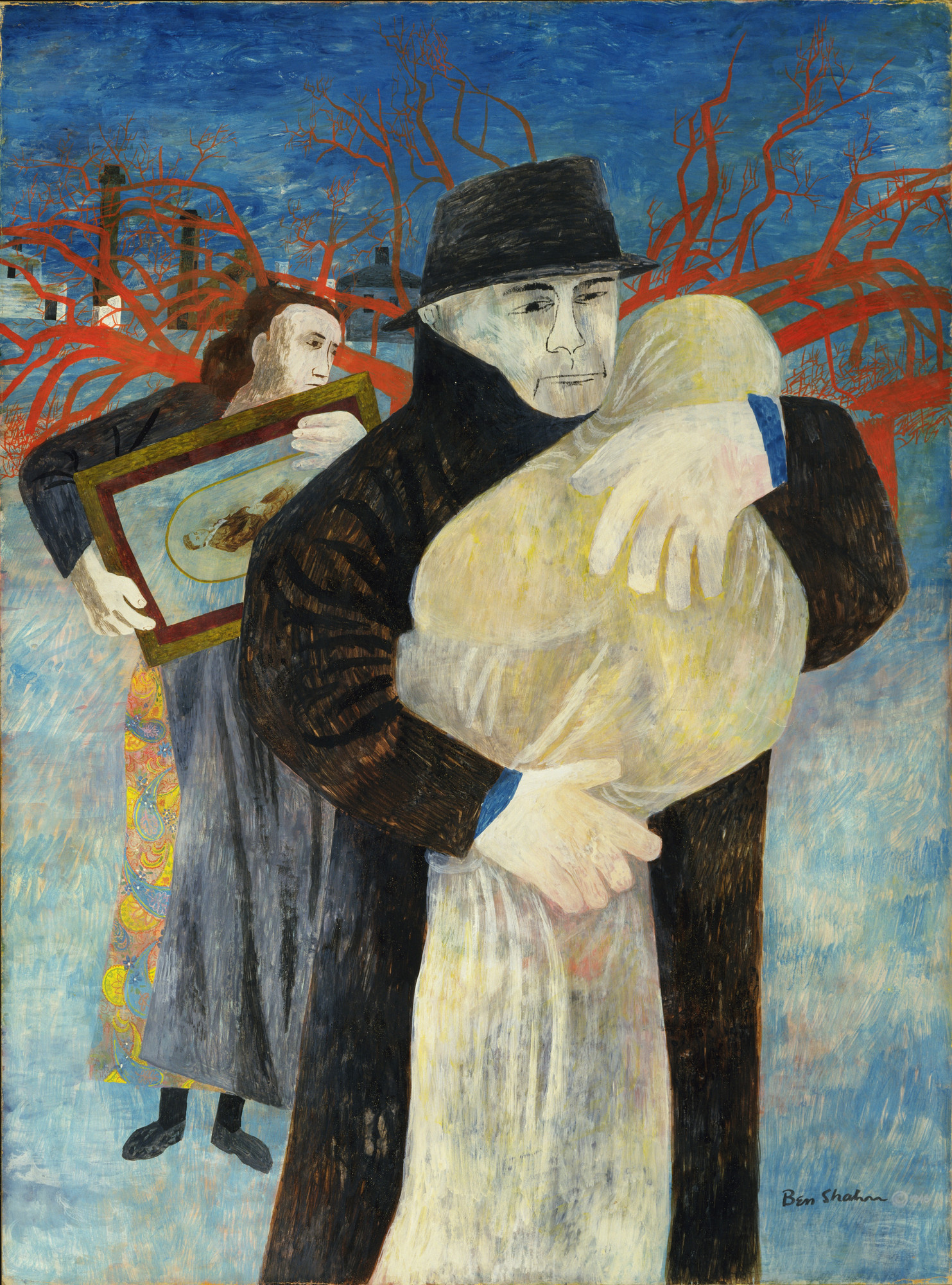 Ben Shahn. Father and Child. 1946