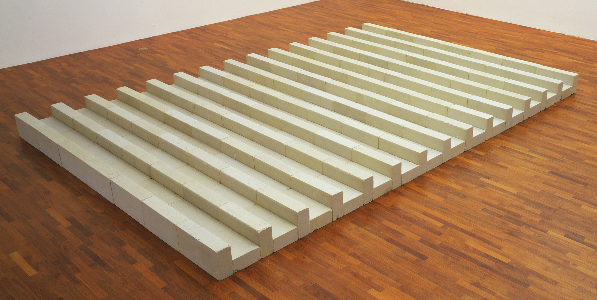 Carl Andre. Smithereens. 1984