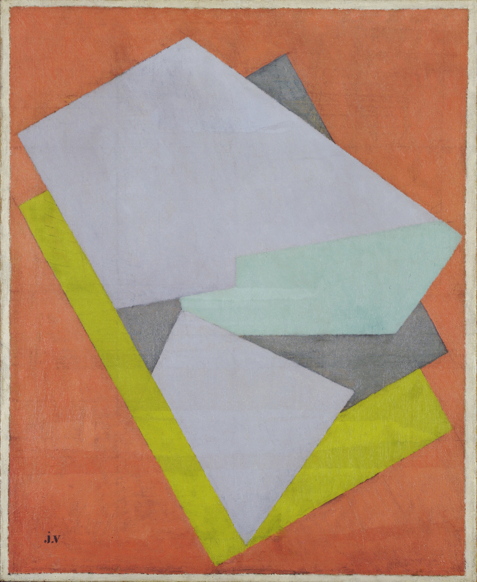 Jacques Villon. Color Perspective. 1922