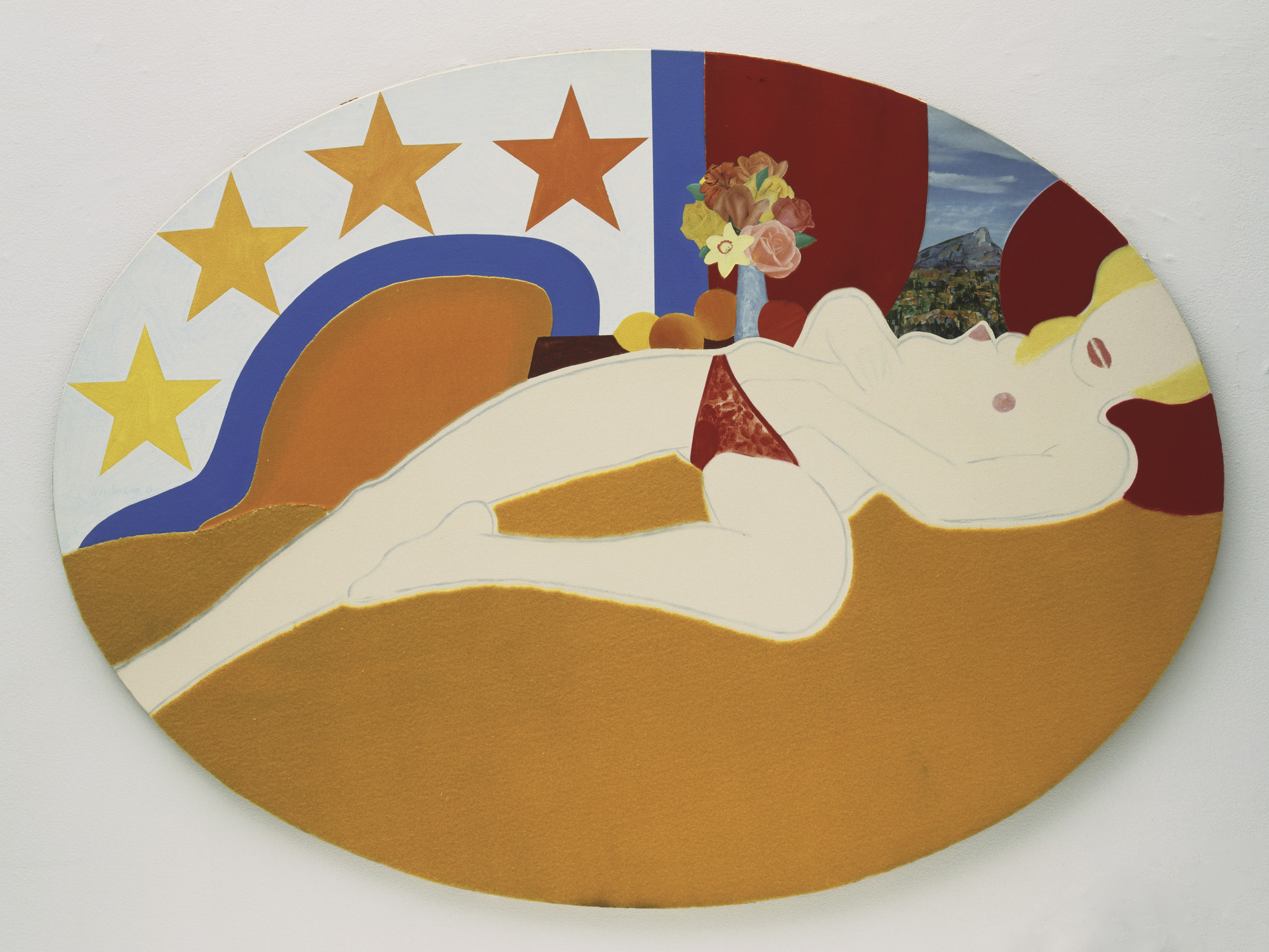 Tom Wesselmann. Great American Nude, 47. 1963