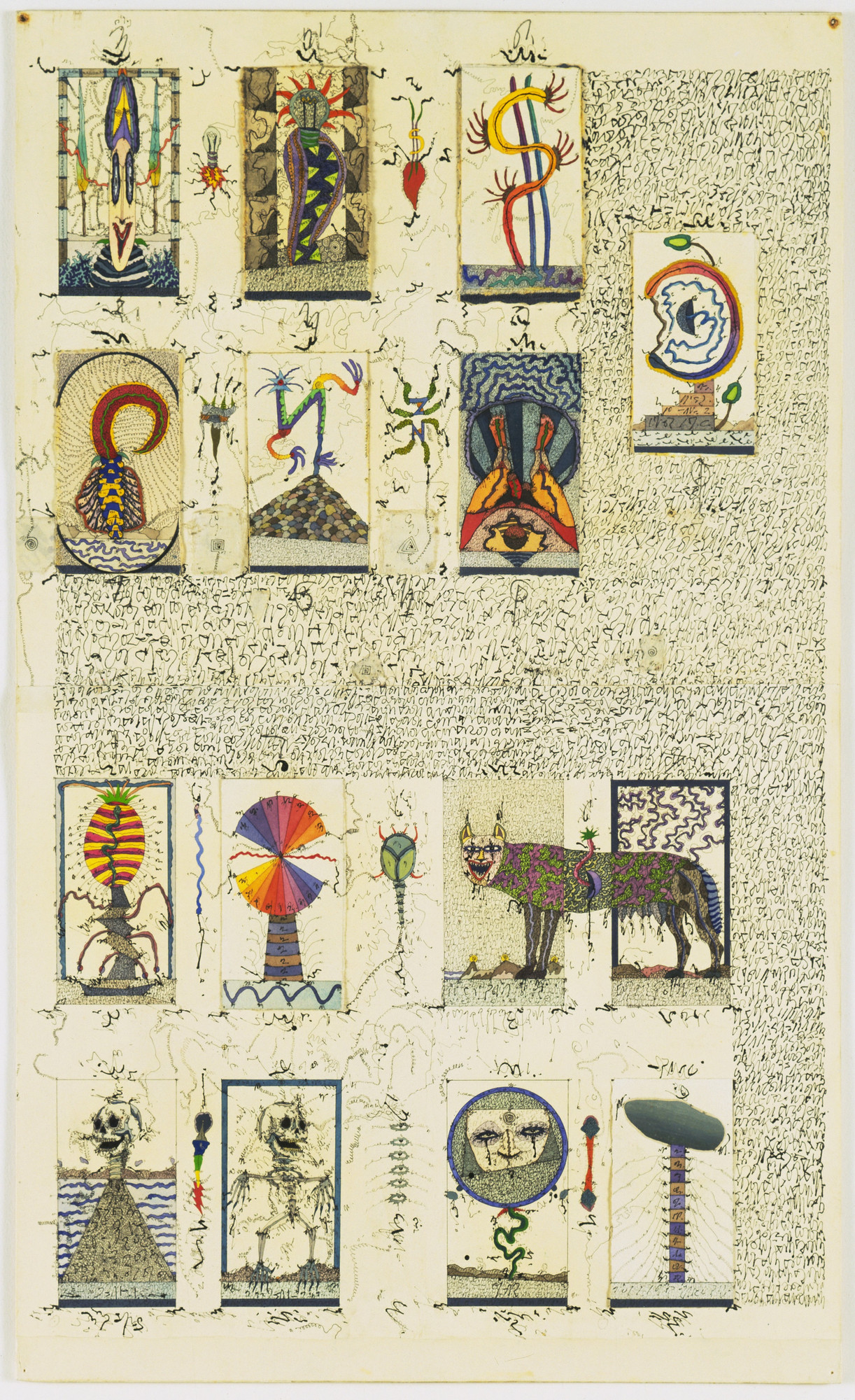 Zush (Alberto Porta). The Tarot Cards. 1976-79