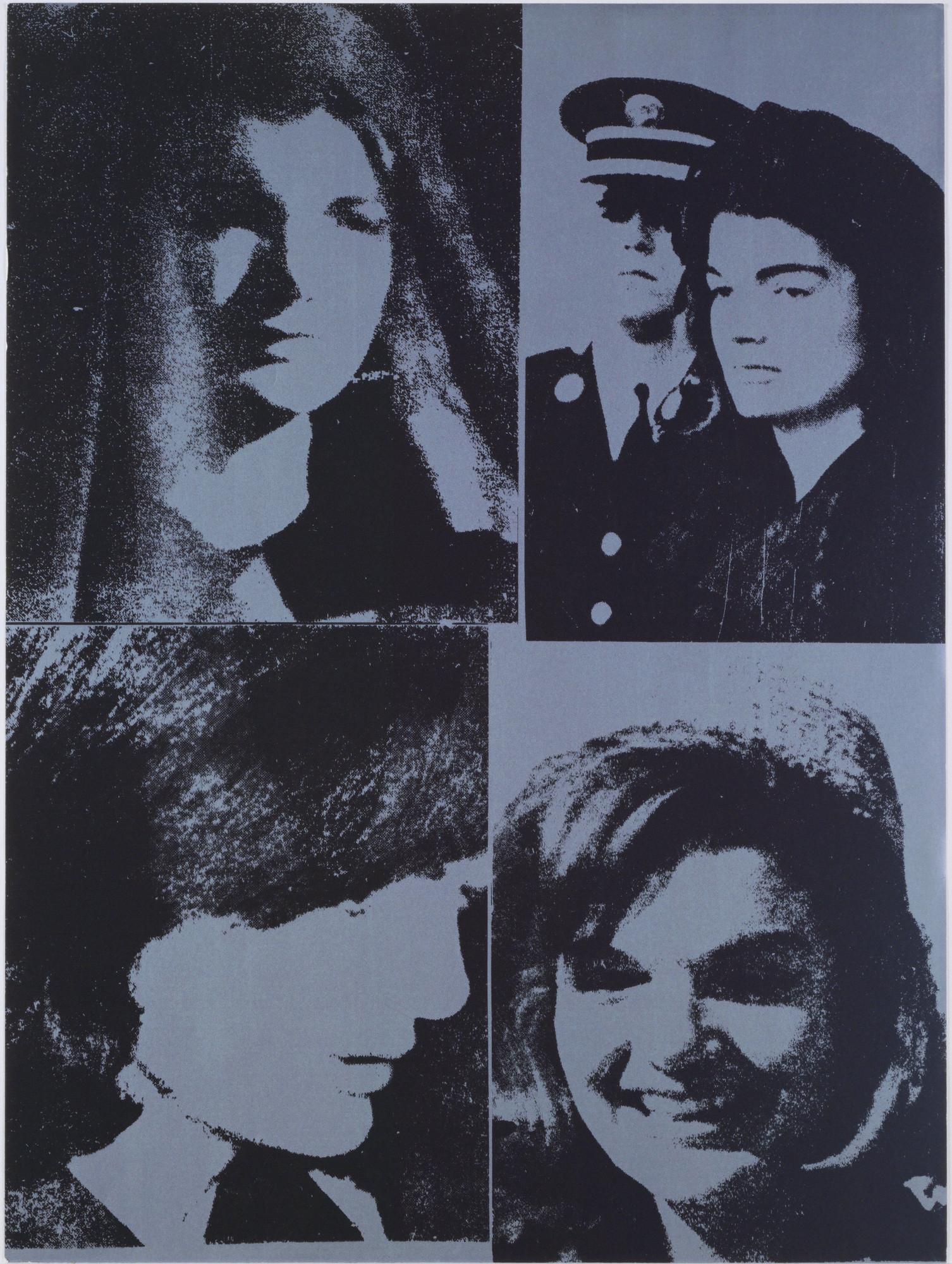 Andy Warhol. Jacqueline Kennedy III from 11 Pop Artists, Volume III. 1965, published 1966