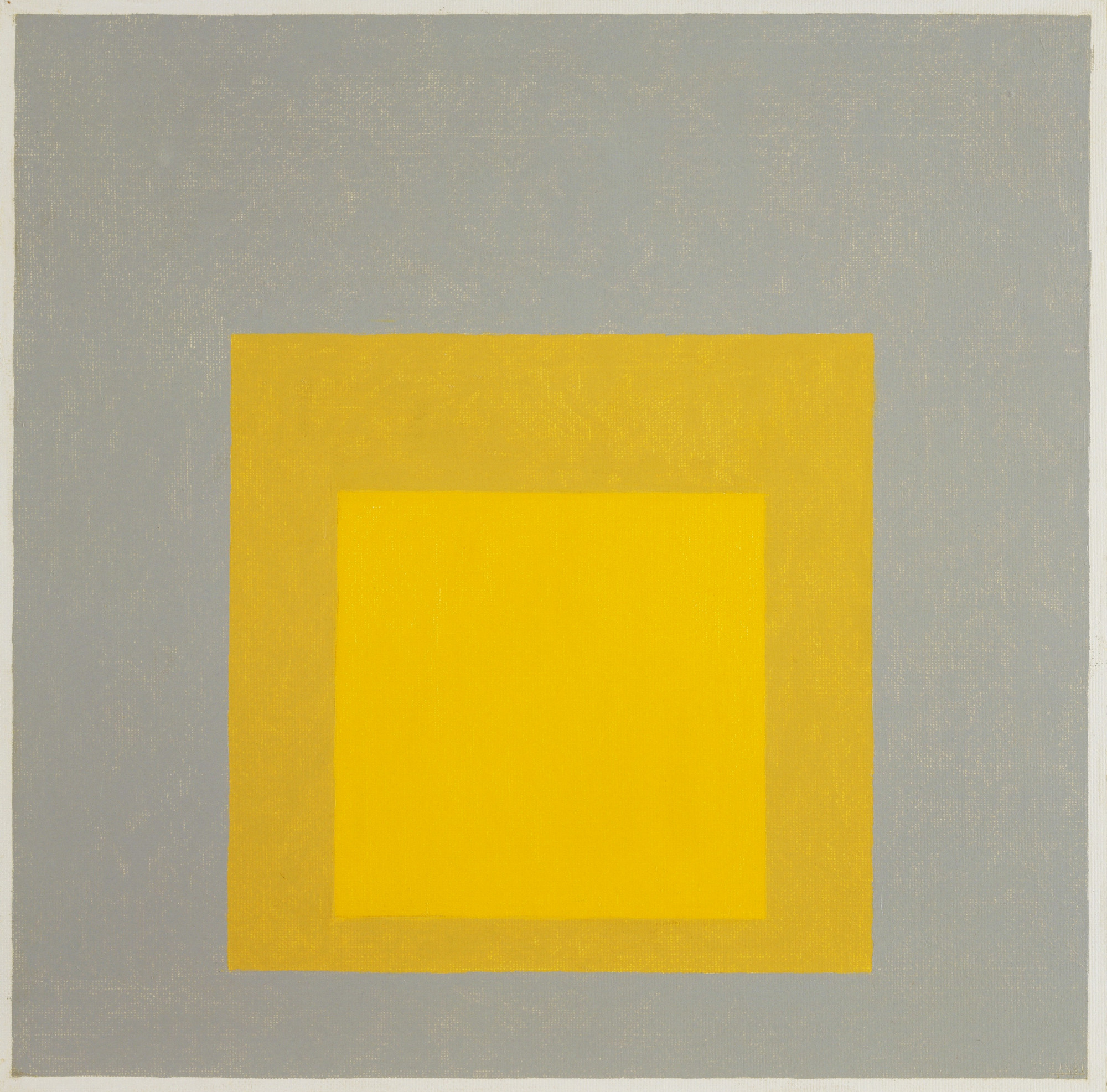 Josef Albers. Study for Homage to the Square: Early Rising A. 1961