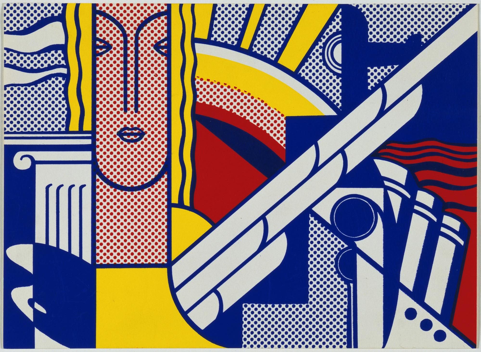 Roy Lichtenstein. Modern Art Poster. 1967 | MoMA