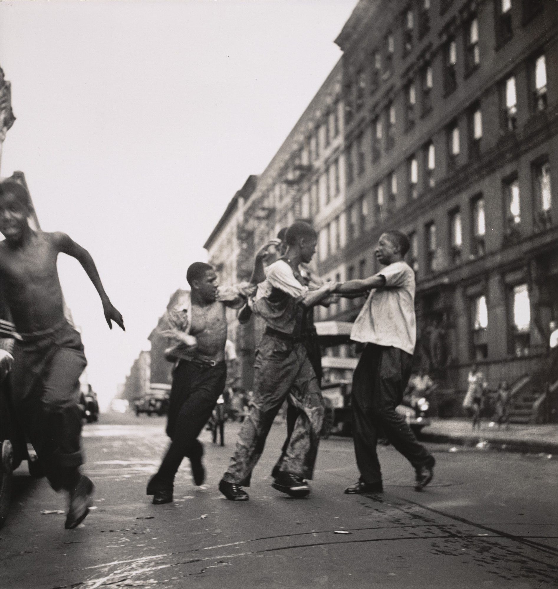 Gordon Parks. Harlem Gang Wars. 1948