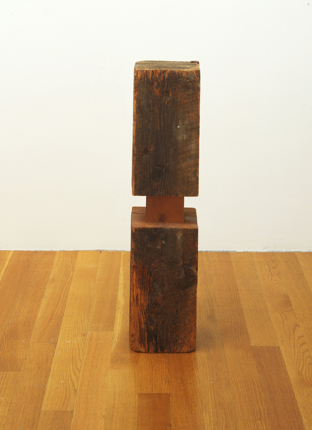 Carl Andre. Timber Spindle Exercise. 1964