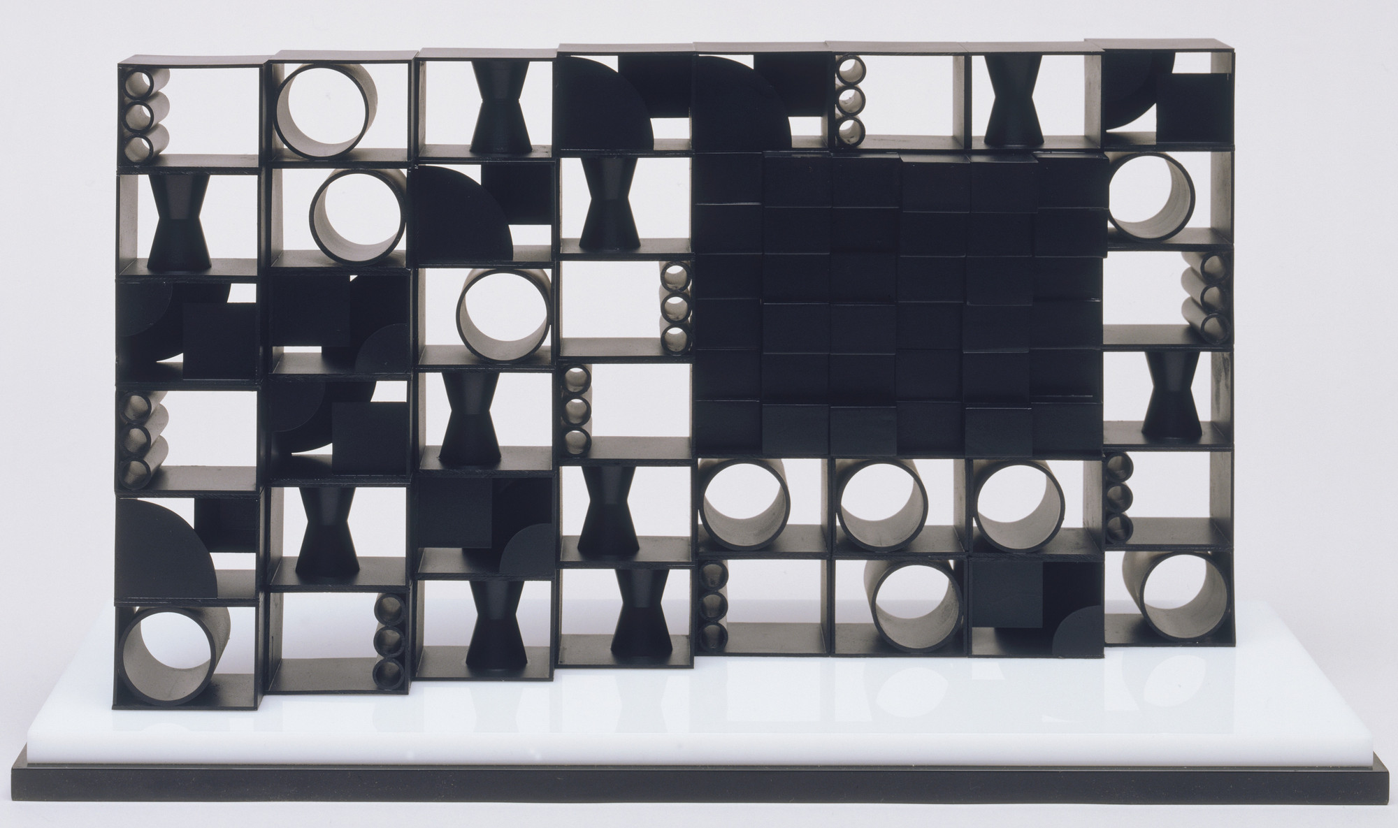 Louise Nevelson. Model for Atmosphere and Environment. 1966