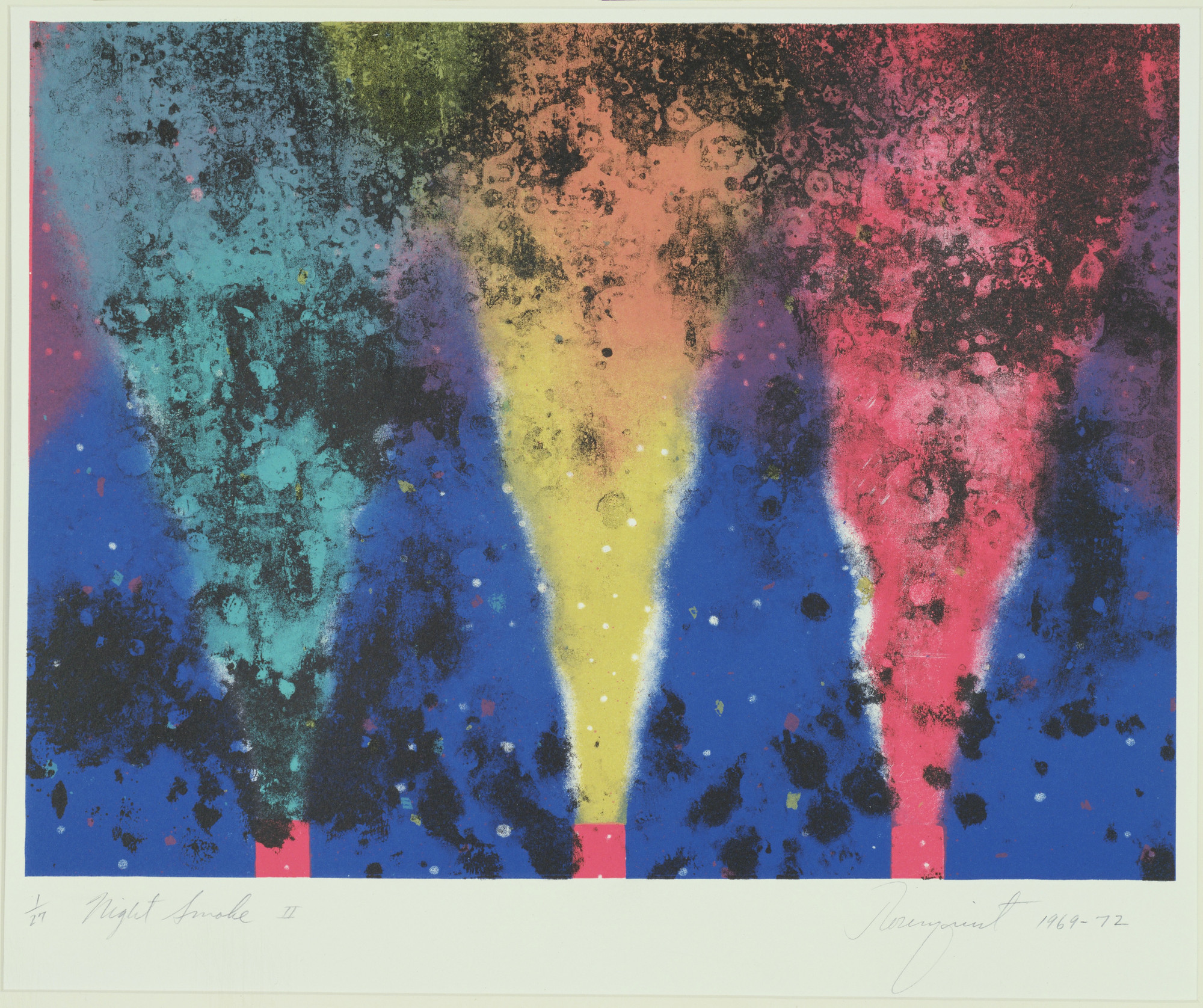 James Rosenquist. Night Smoke. 1969-70