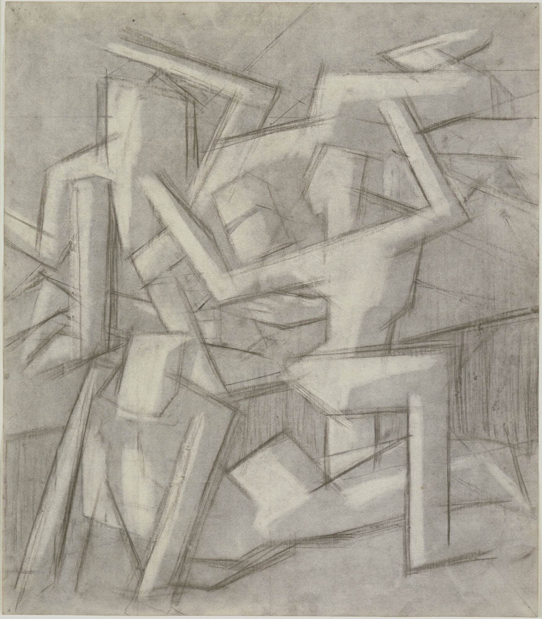 David Bomberg. Study for In the Hold. (1913)