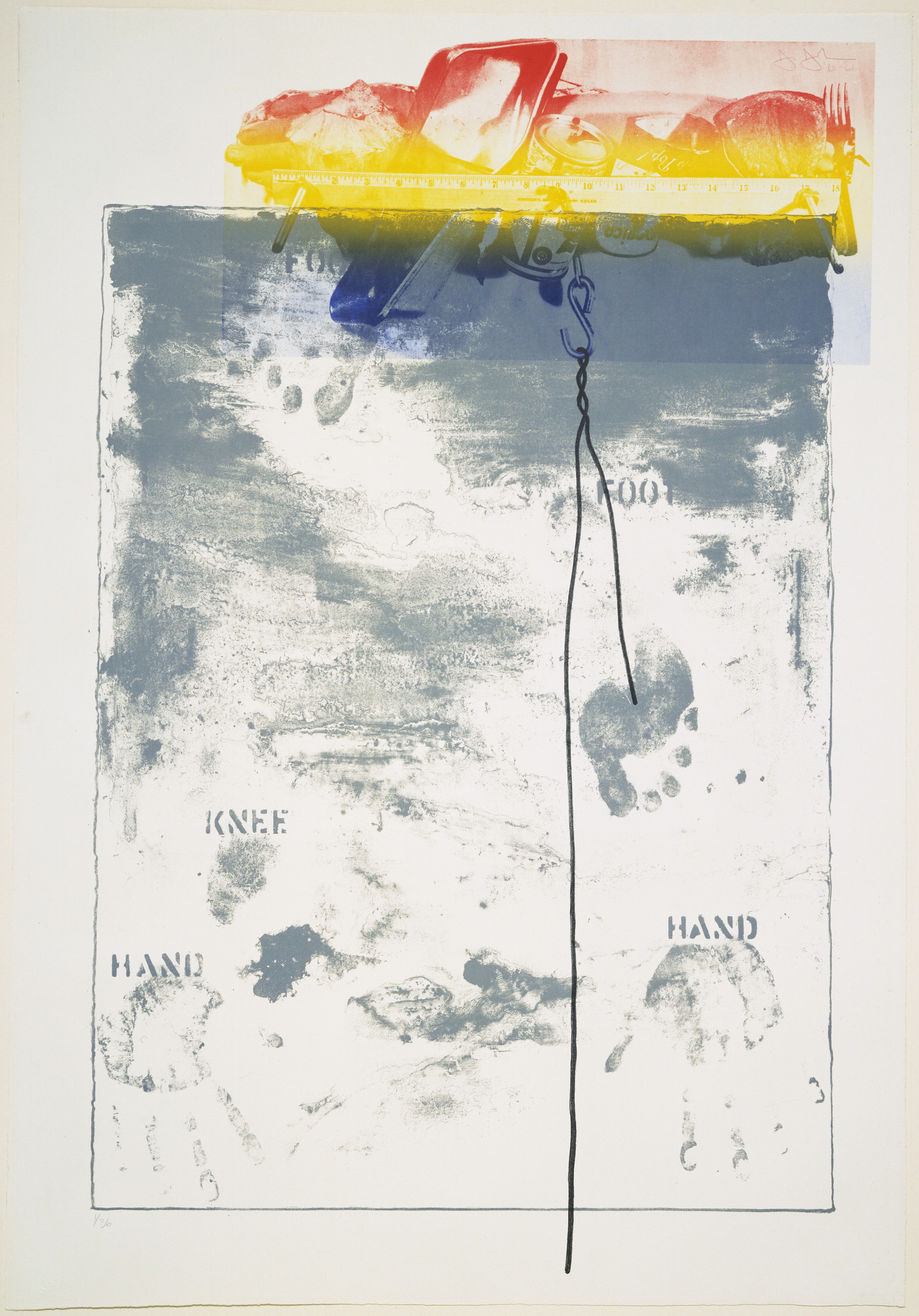 Jasper Johns. Pinion. 1963–66, published 1966