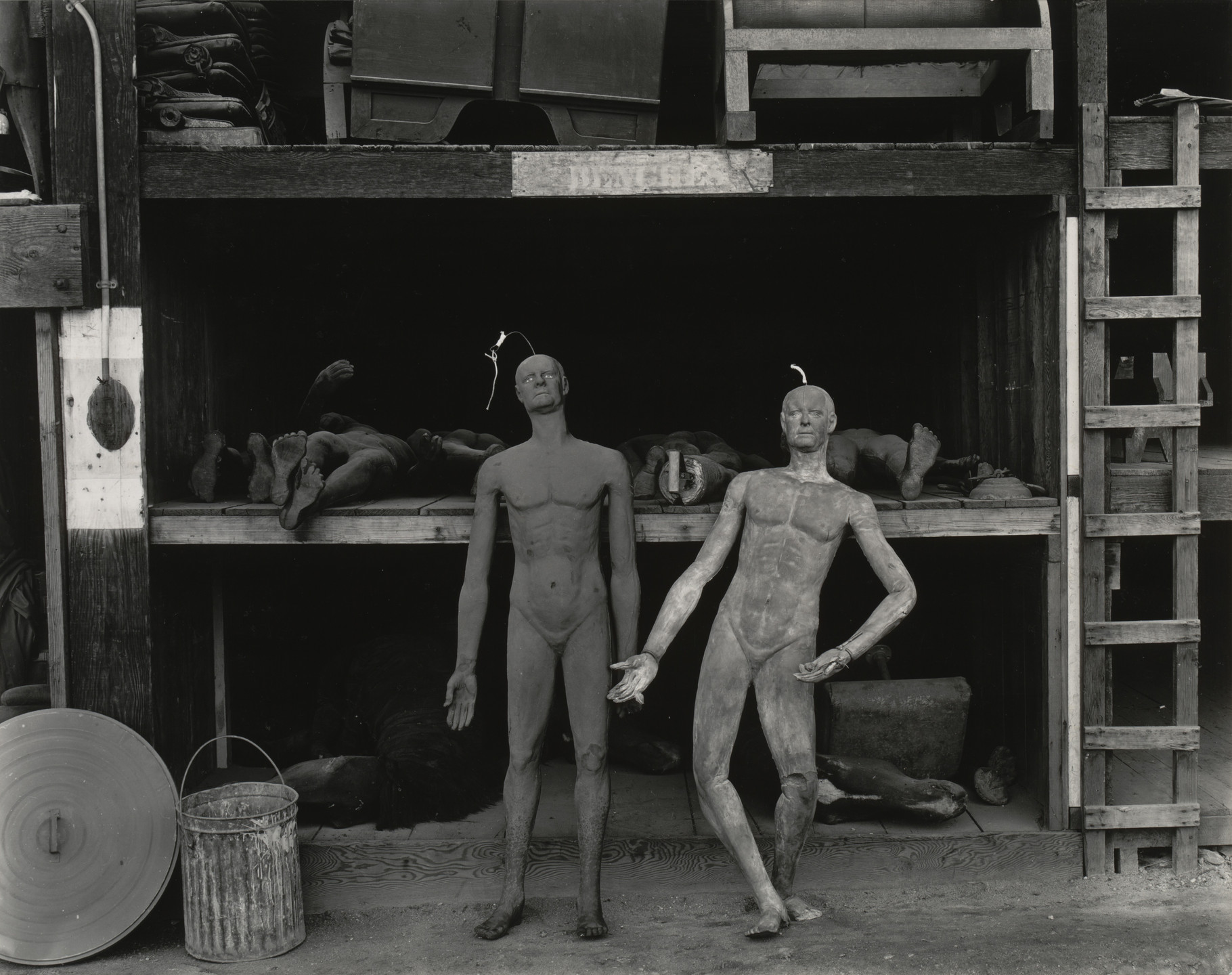 Edward Weston. Rubber Dummies, Metro Goldwyn Mayer Studios, Hollywood. 1939