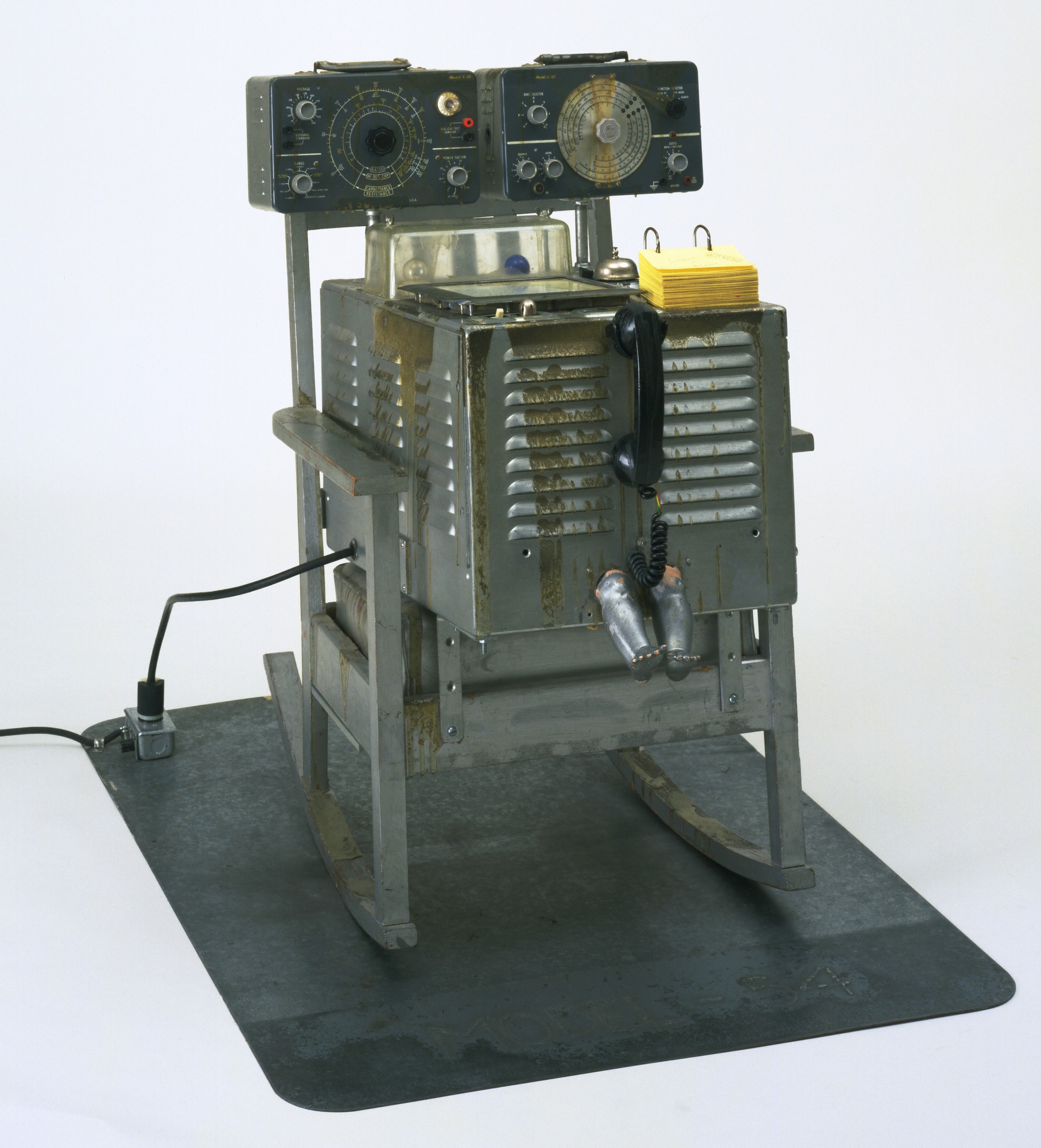 Edward Kienholz. The Friendly Grey Computer--Star Gauge Model #54. 1965