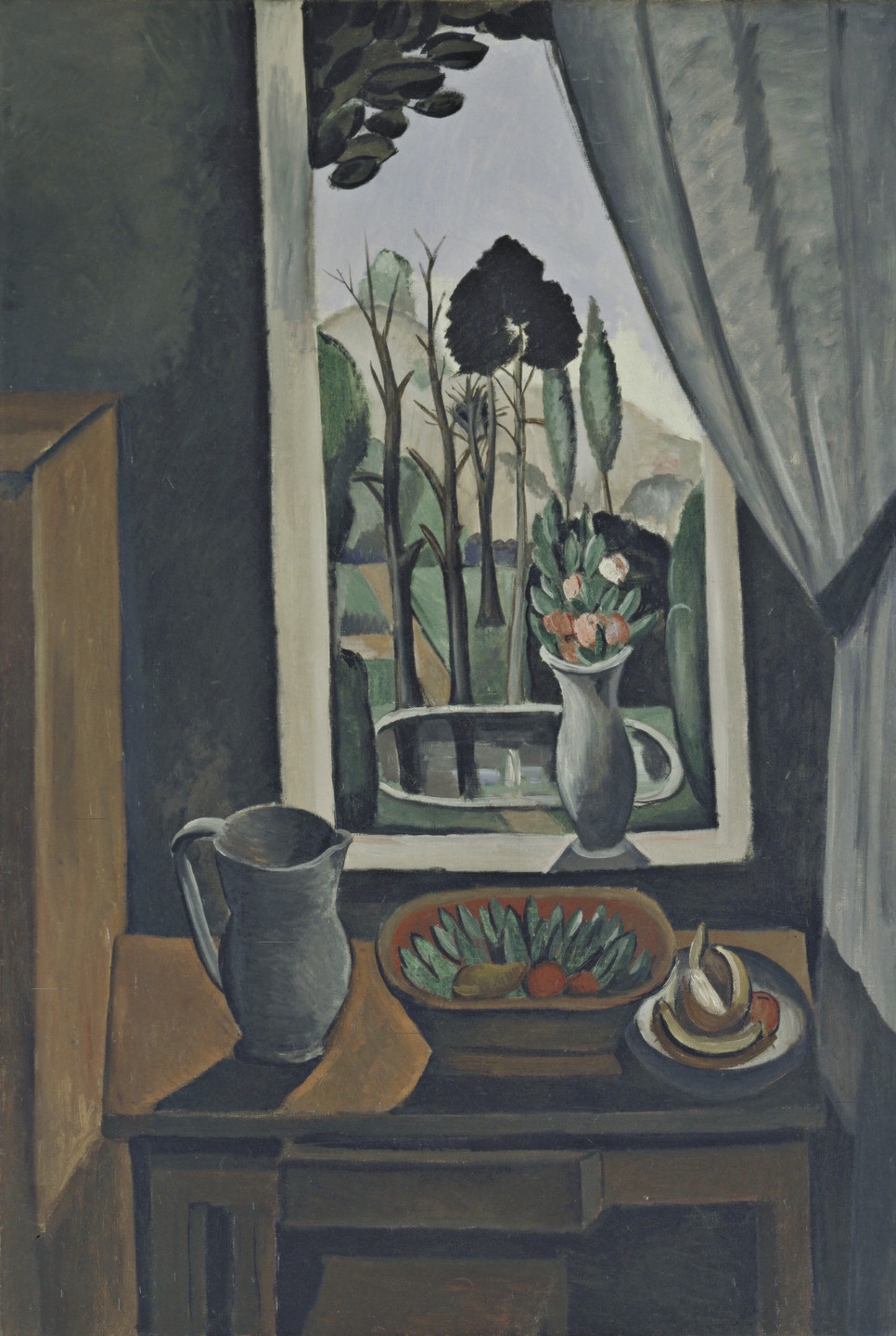 André Derain. Window at Vers. 1912