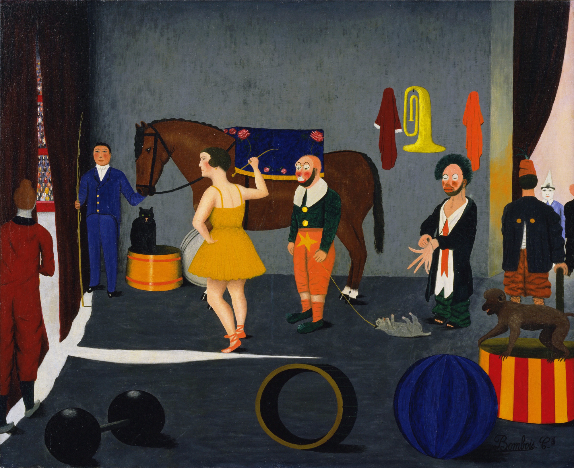 Camille Bombois. Before Entering the Ring. 1930-35