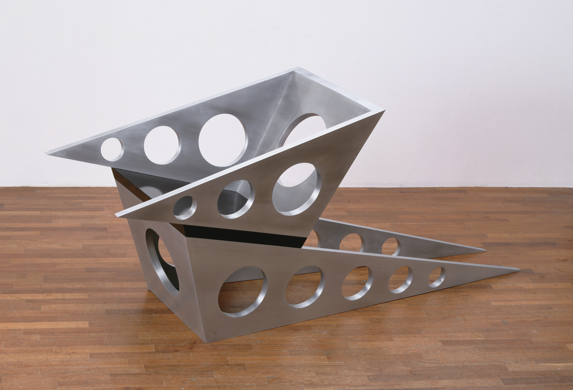 Scott Burton. Aluminum Chair. 1980-81 (fabricated 1981)