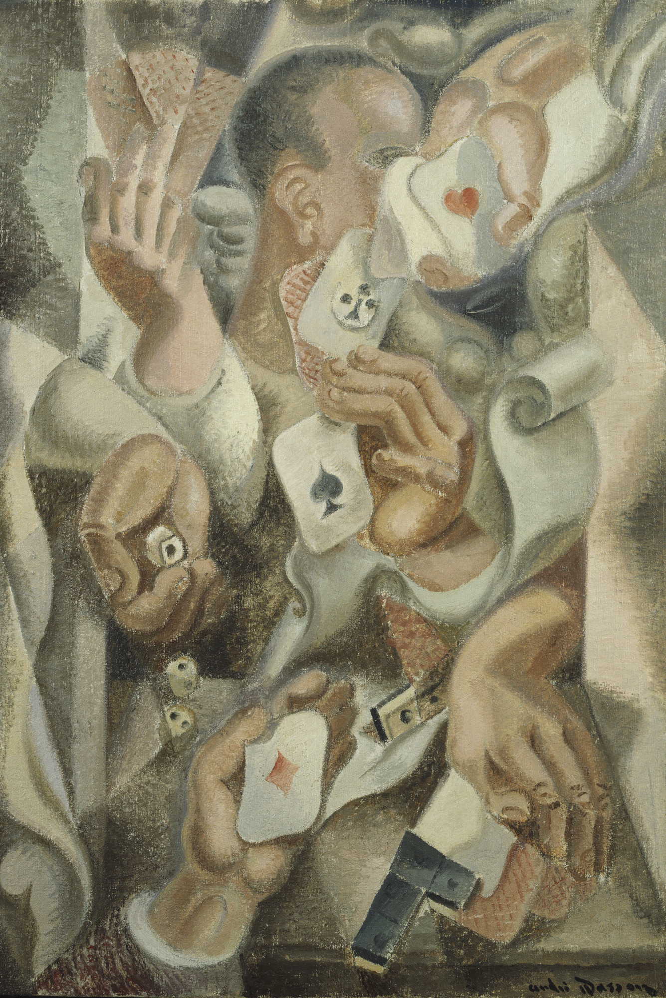 André Masson. Card Trick. 1923