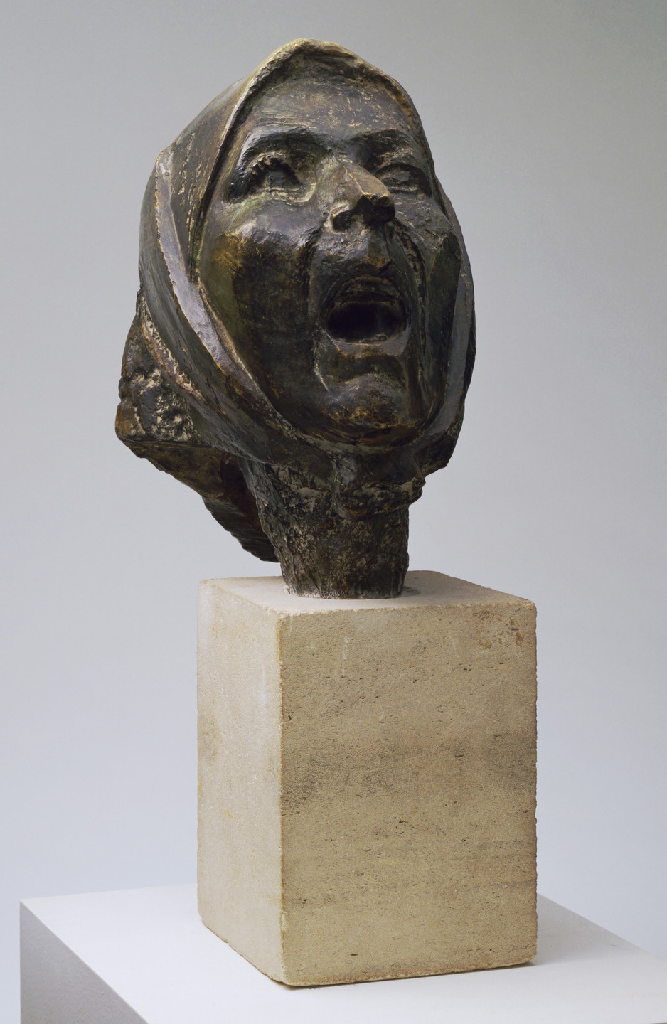 Julio González. Head of the Montserrat, II. 1942