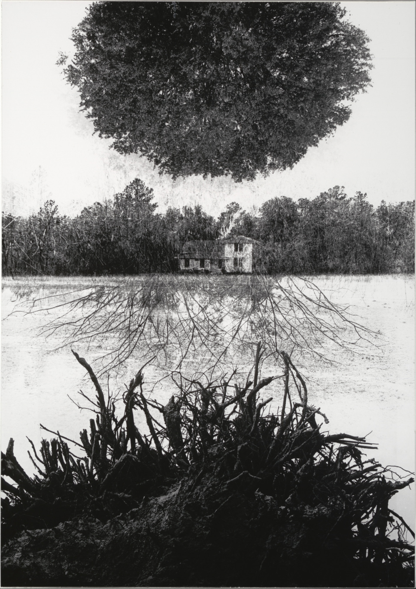 Jerry Uelsmann. Poet's House (First Version). 1965