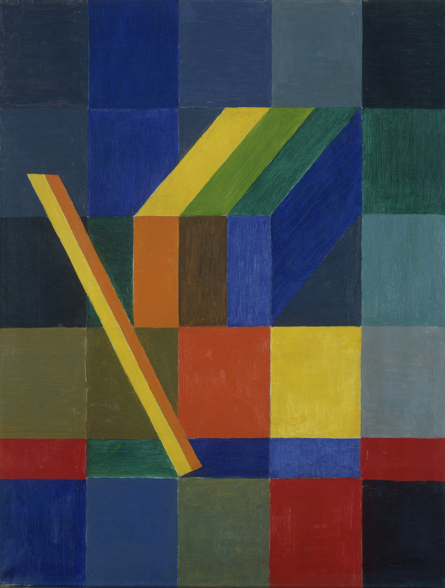 Johannes Itten. Space Composition, I. 1944