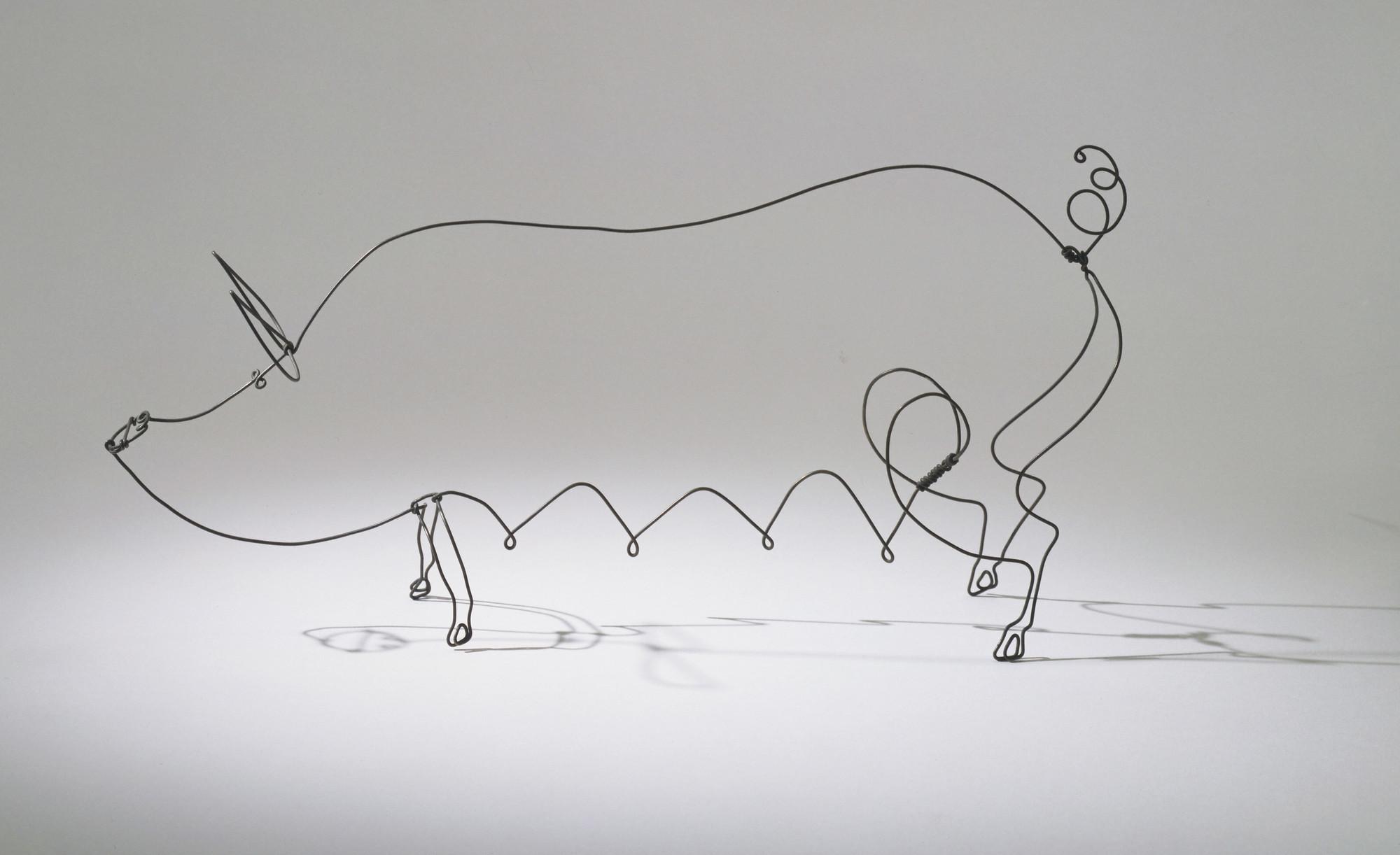 Alexander Calder. Sow. 1928   MoMA