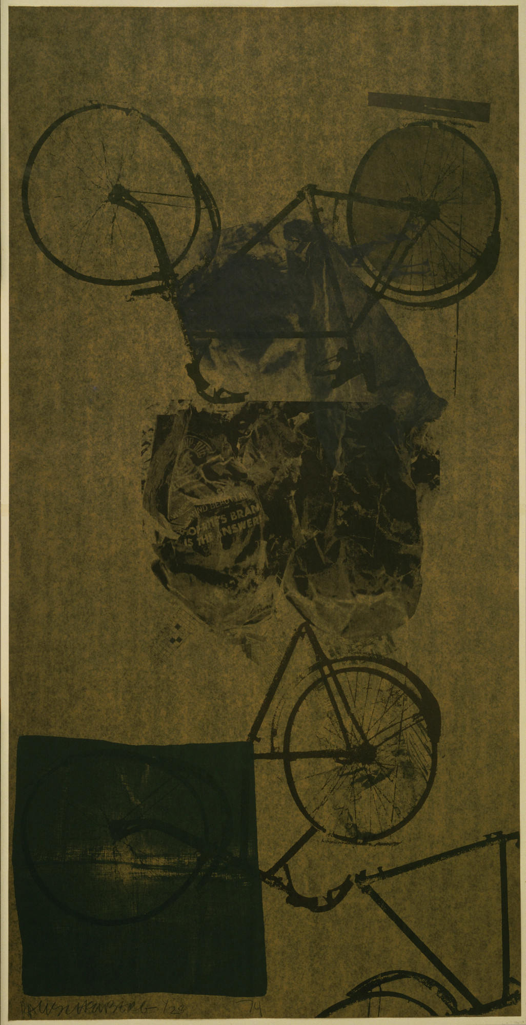 Robert Rauschenberg. Kitty Hawk. 1974