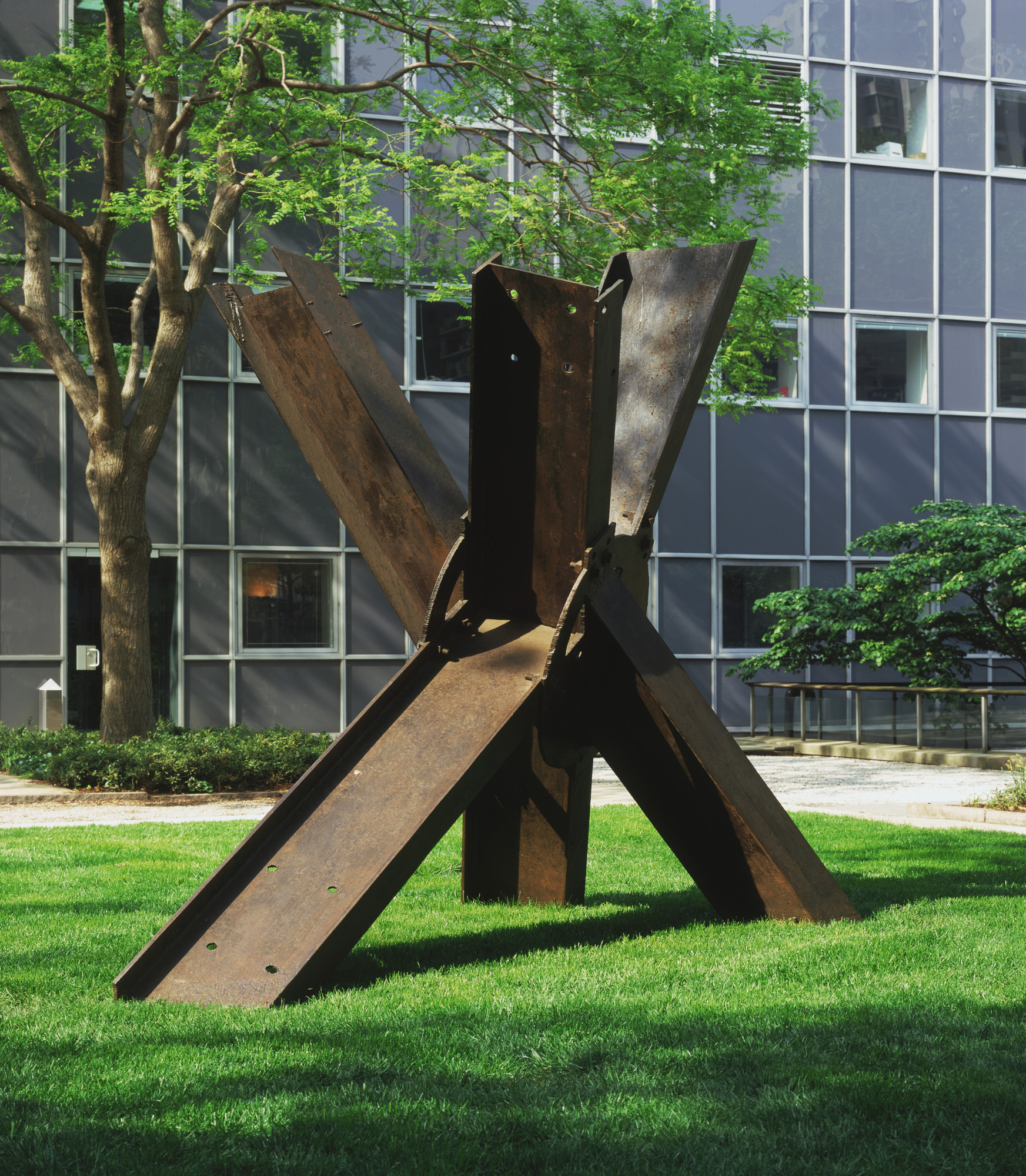Mark di Suvero. For Roebling. 1971