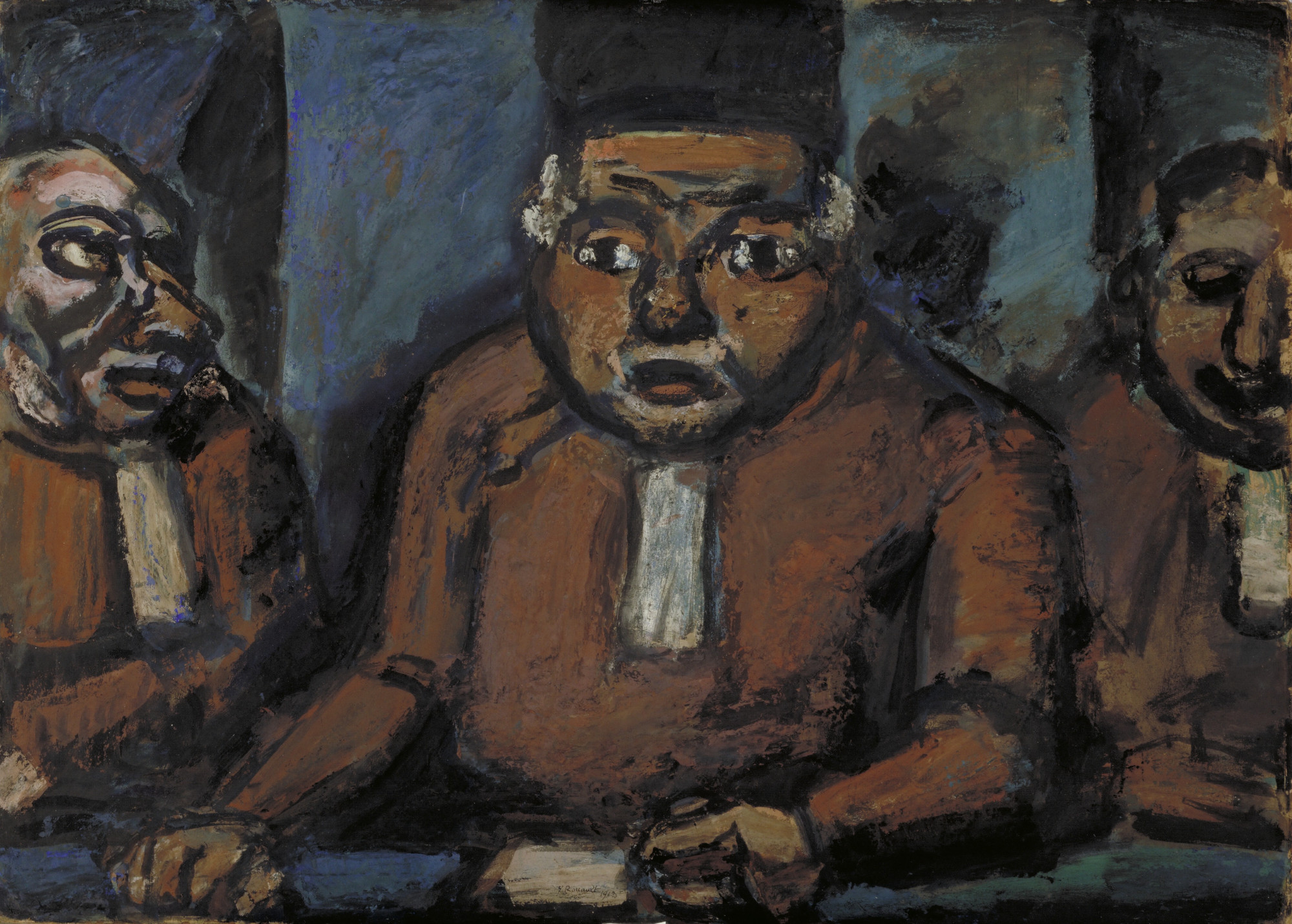 Georges Rouault  The Three Judges  1913 | MoMA