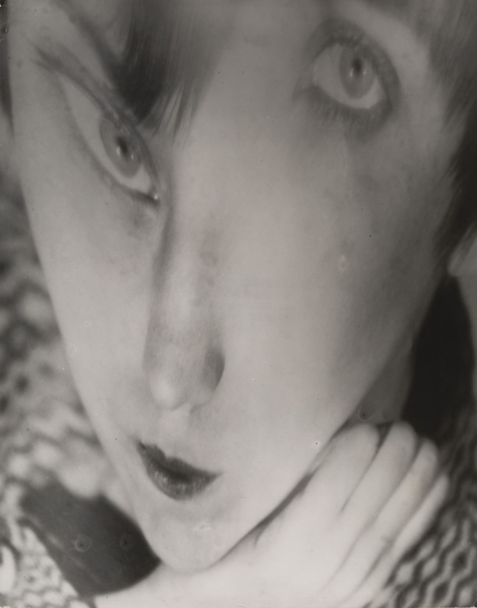 Berenice Abbott. Portrait of the Artist as a Young Woman. Negative c. 1930/Distortion c. 1950