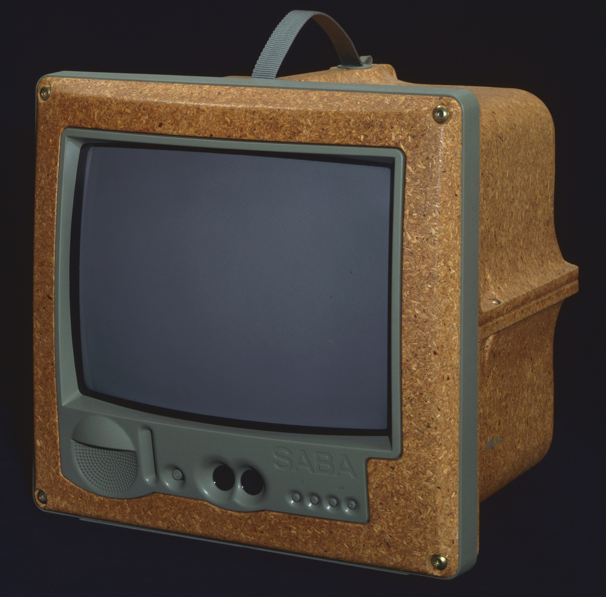 Philippe Starck Jim Nature Portable Television 1994 Moma # Television Moderne