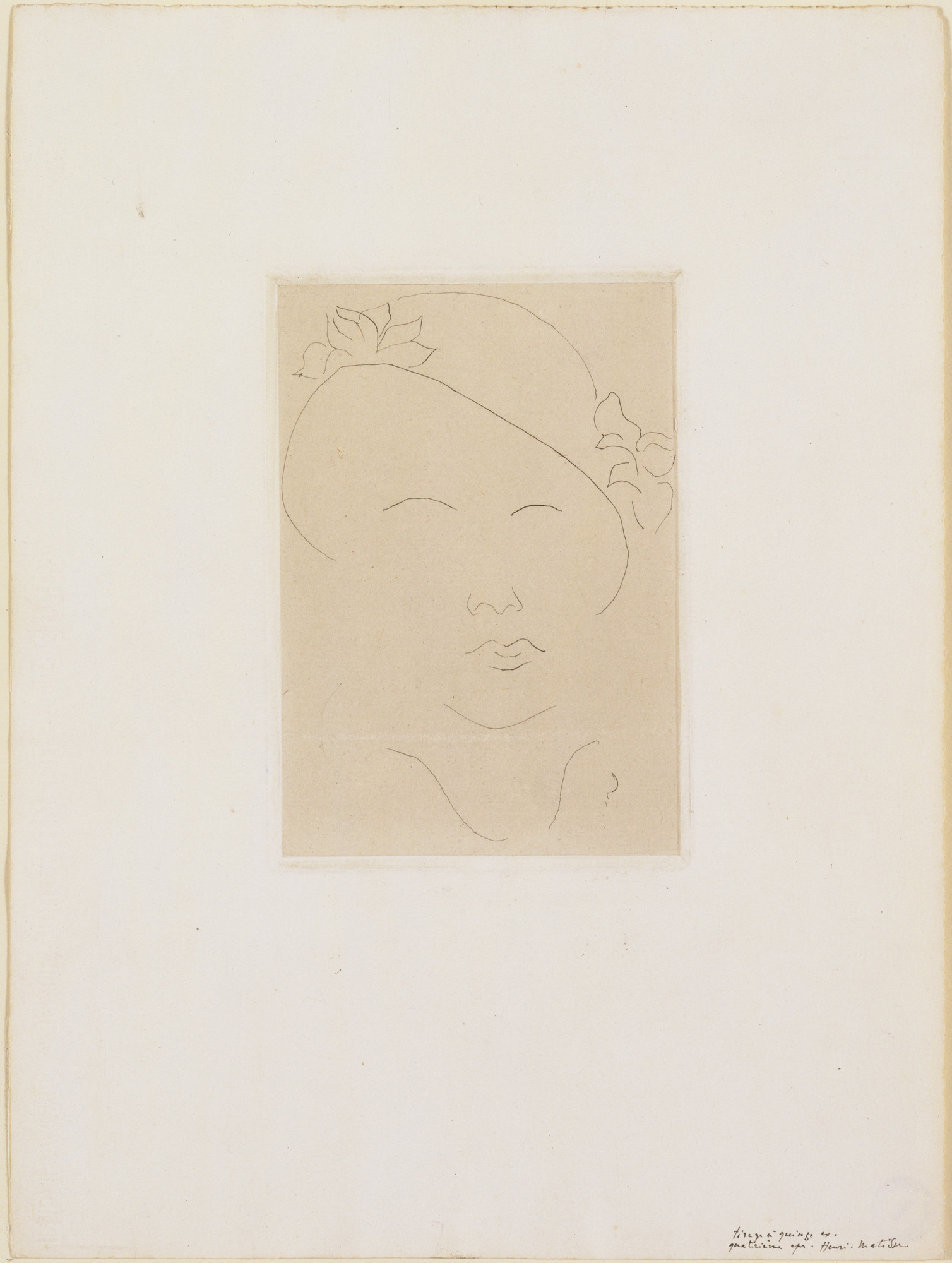 Henri Matisse. Loulou, Distracted (Loulou, le regard absent). 1914–15